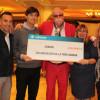 La Peña de Dinamarca entrega cheque donación por su décimo aniversario
