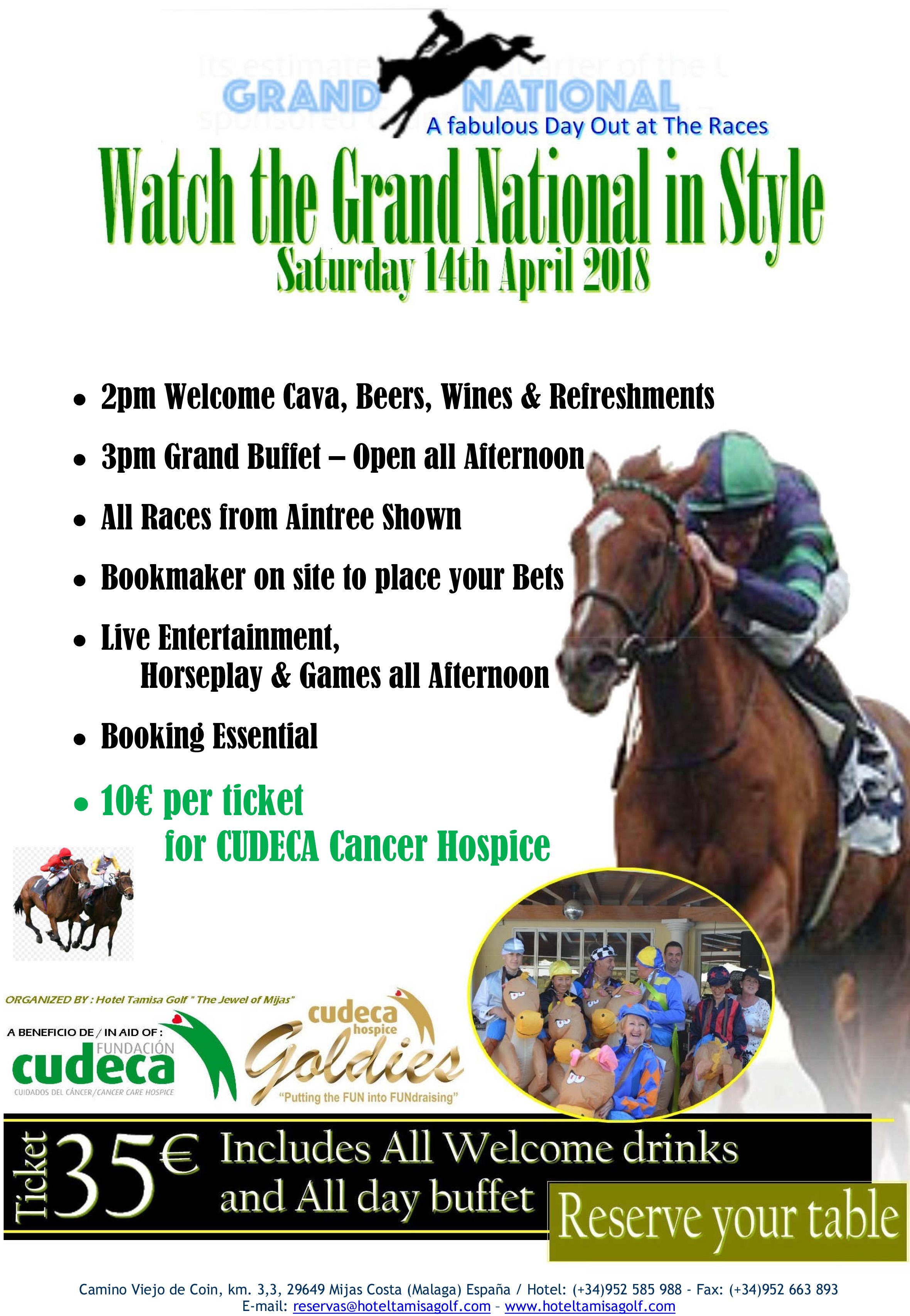 """Fiesta """"Grand National"""" por CUDECA"""