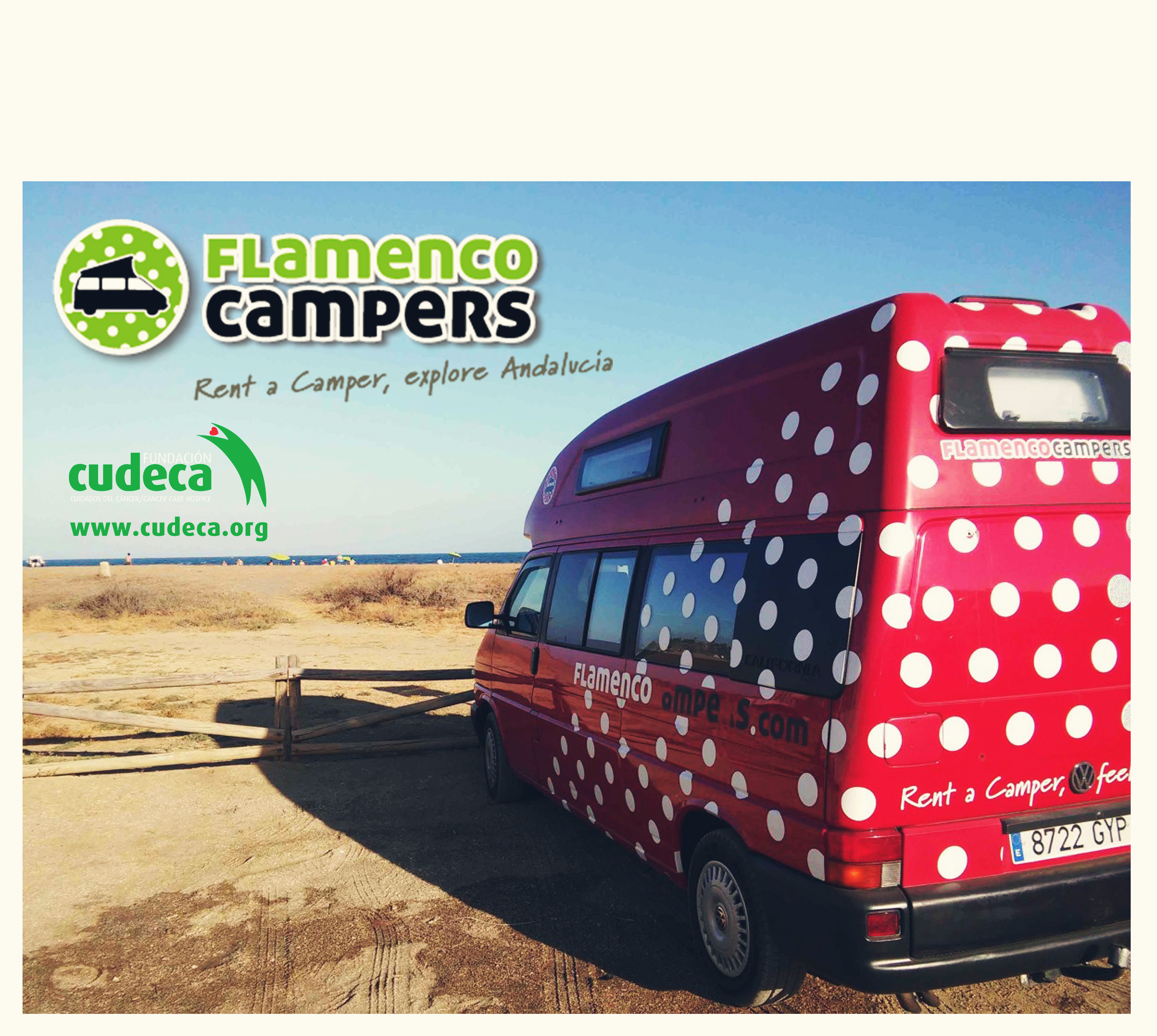 Flamenco Campers with Cudeca one more time
