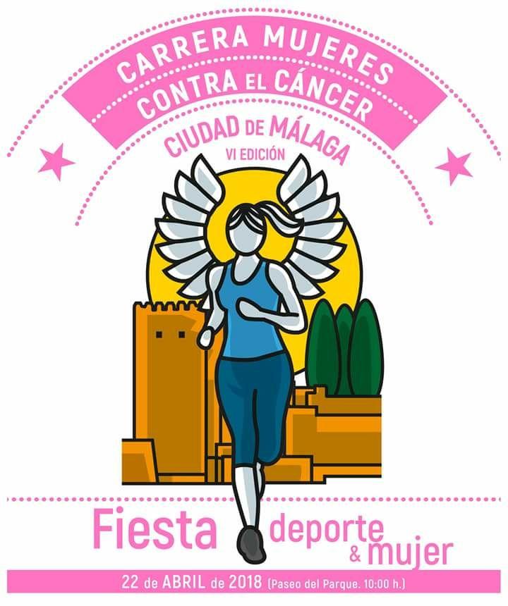 """VI Carrera de la mujer contra el cáncer """"Ciudad de Málaga"""" a beneficio de la Fundación Cudeca"""