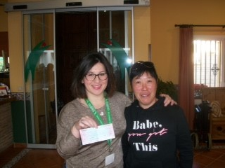 Successful charity lunch at Restaurant Hong Kong – Jardín Botánico in Mijas Costa