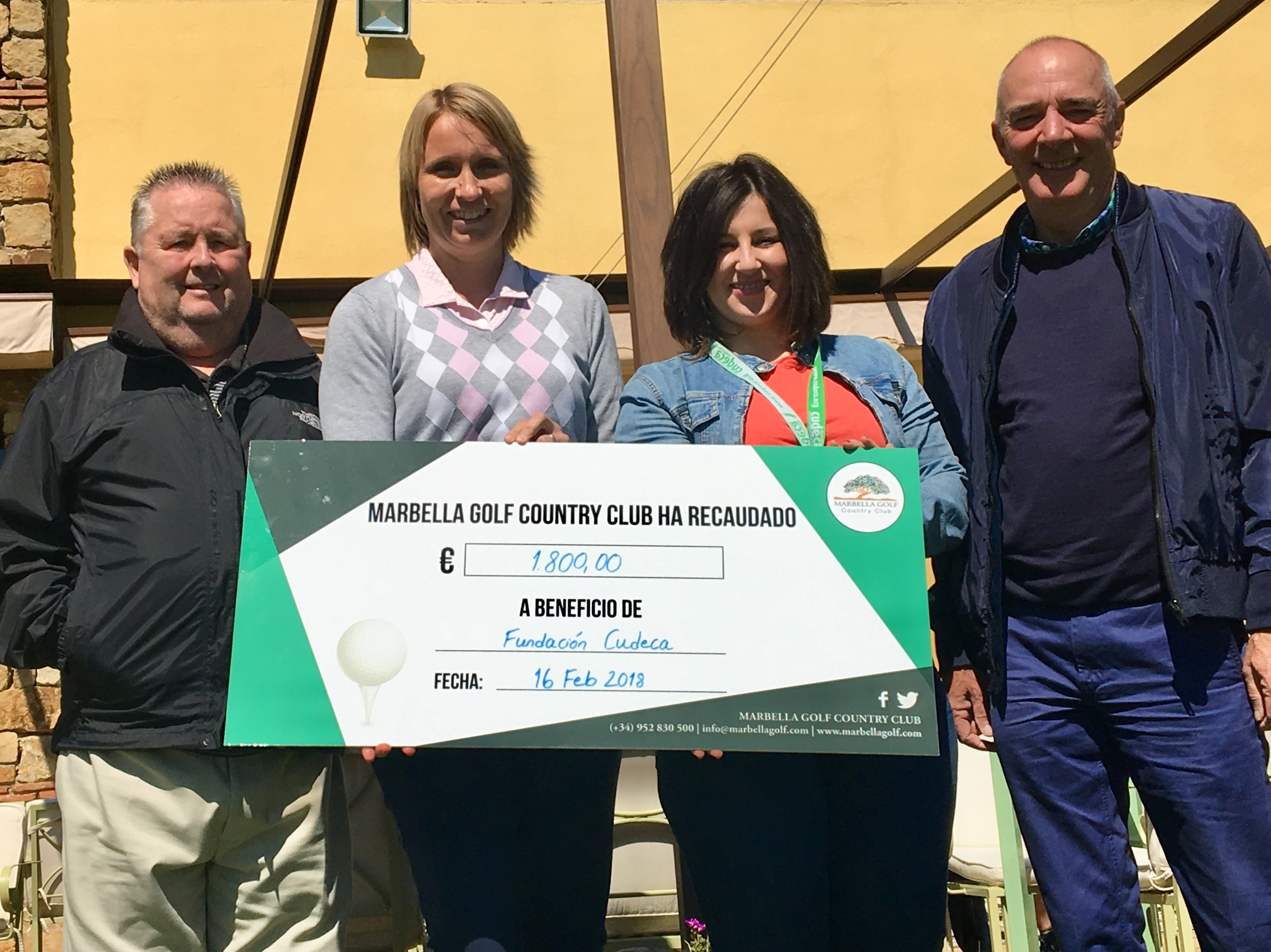 Generous and altruist Members Memorial  Charity Tournament at Marbella Golf Country Club