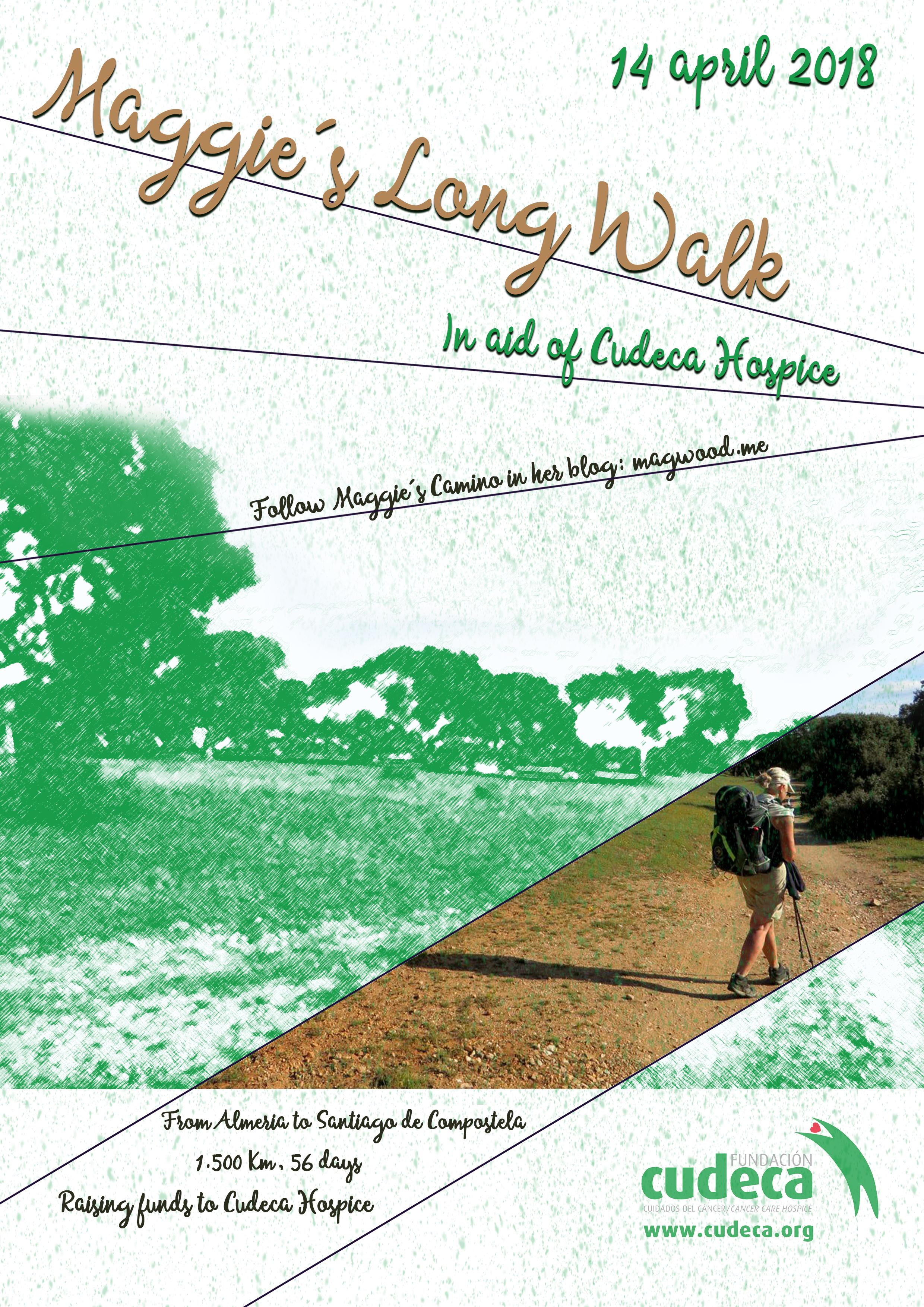 6º Reto de Maggie – Camino de Santiago por CUDECA
