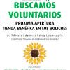 ¡Necesitamos voluntarios para nuestra nueva tienda de Los Boliches!