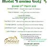 ¡Celebra el día de San Patricio en el Tamisa Golf Hotel con las Cudeca Goldies!