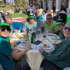 Gran recaudación en la fiesta de San Patricio con las Goldies en Tamisa Golf Hotel