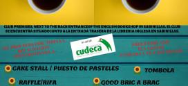 DESAYUNO SOLIDARIO a favor de CUDECA en Sabinillas