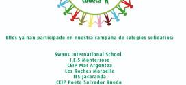 Únete a nuestra Campaña de Colegios Solidarios
