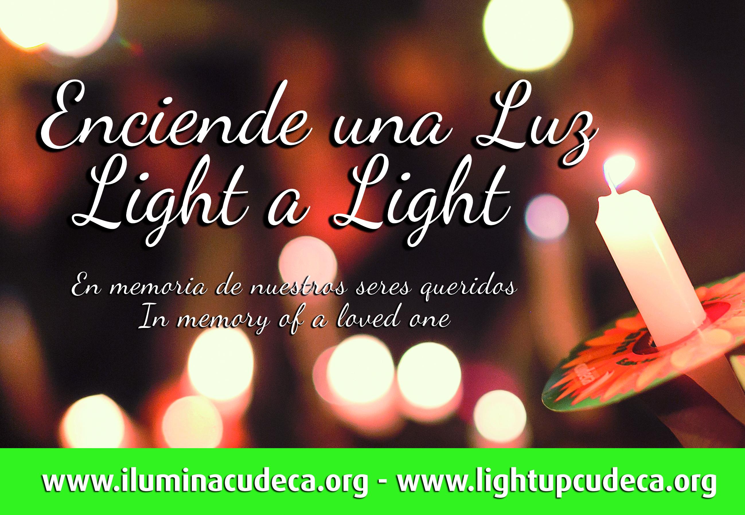 Foto campaña Light a Light