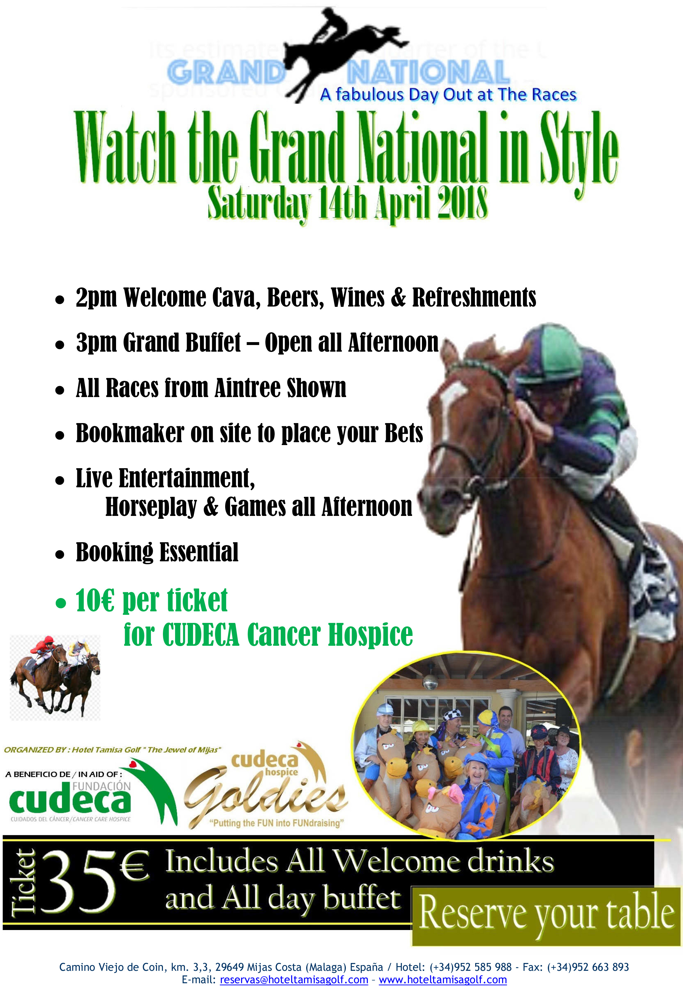 Grand National in aid of Cudeca