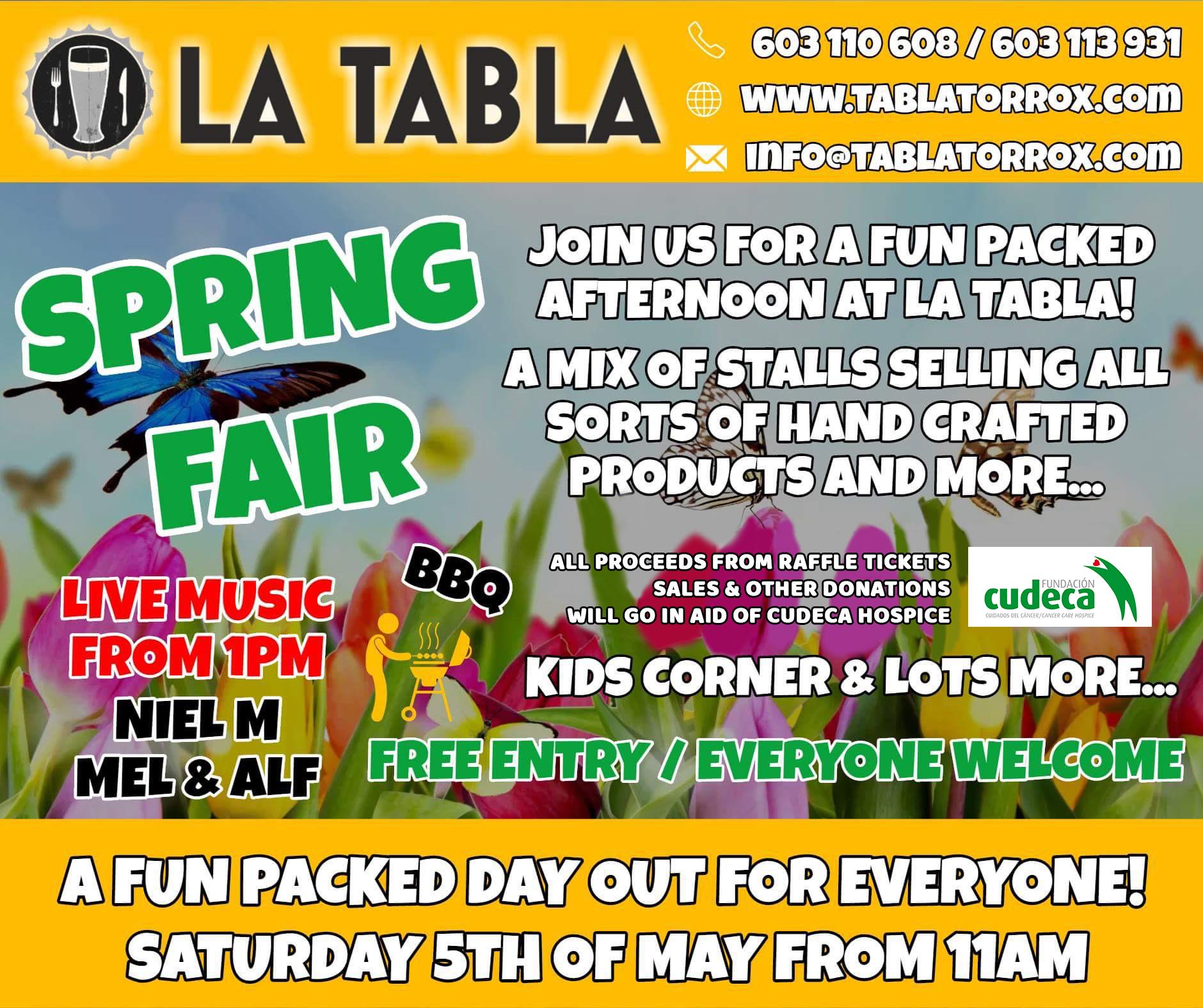 Spring Fair in La Tabla – Torrox