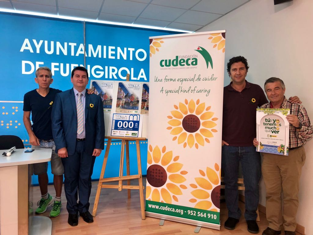 Presentación de la IV Milla Solidaria de Fuengirola a beneficio de CUDECA