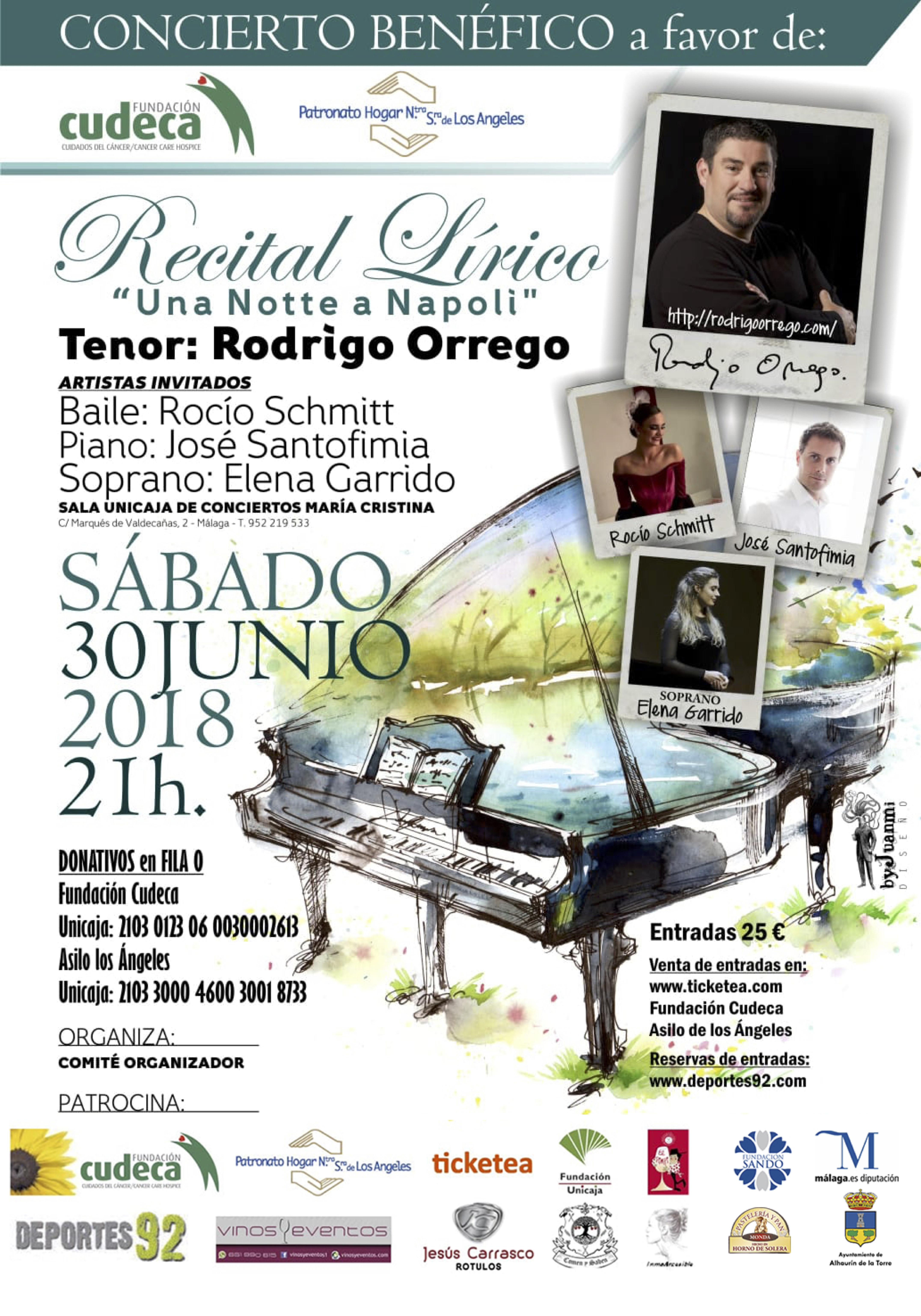 II Recital Lírico Rodrigo Orrego