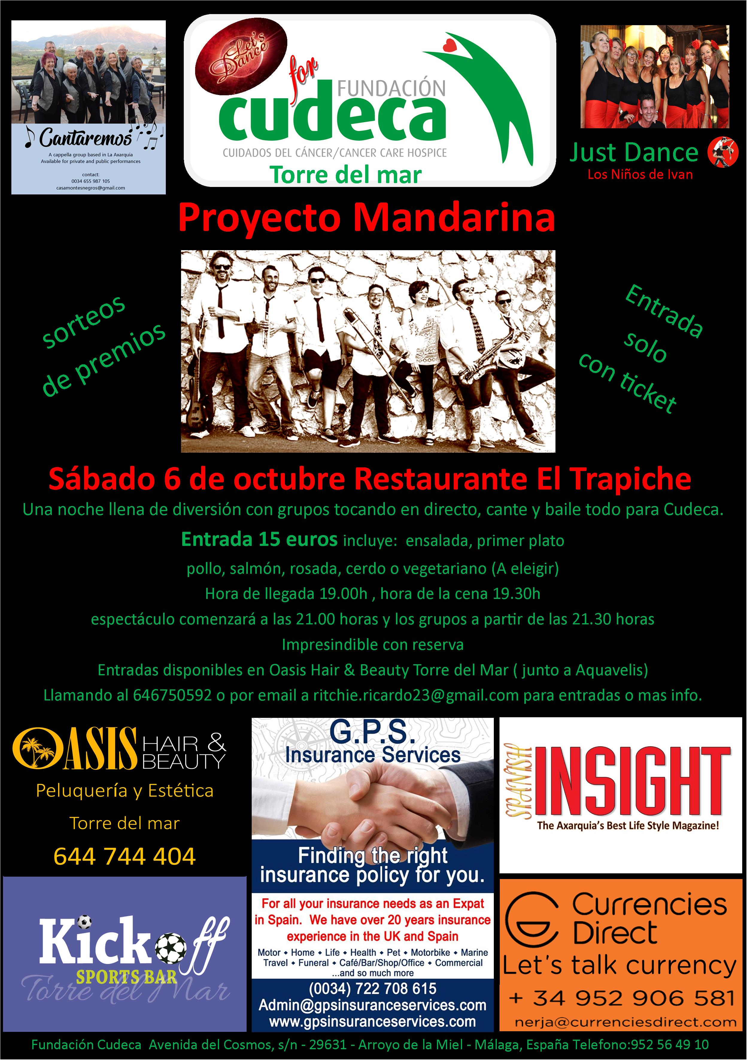 ¡Let´s Dance por CUDECA, de nuevo, solidarios en su 2ª edición!
