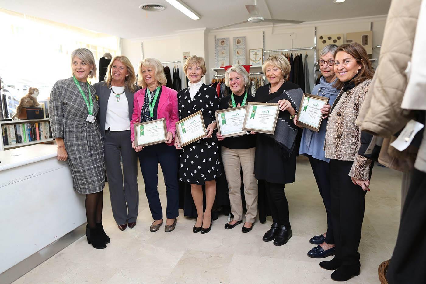 Marbella recognises our volunteers