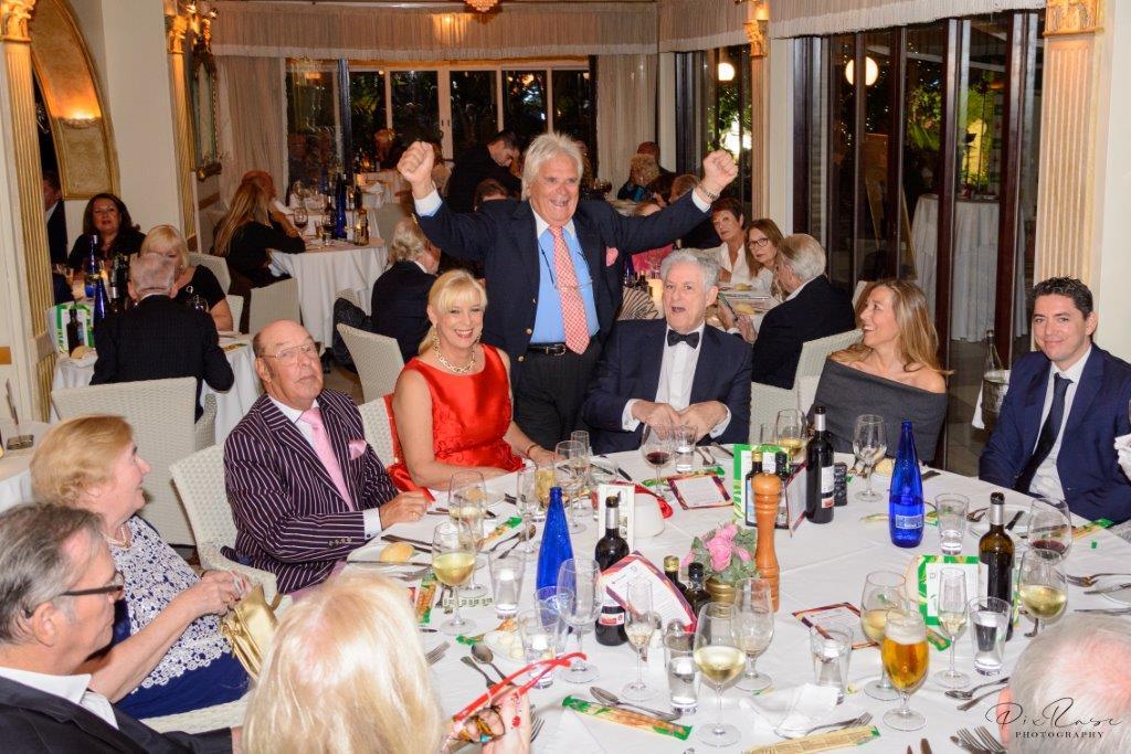 Thrilling & supportive night at the Villa Tiberio Fundraising Gala Dinner!