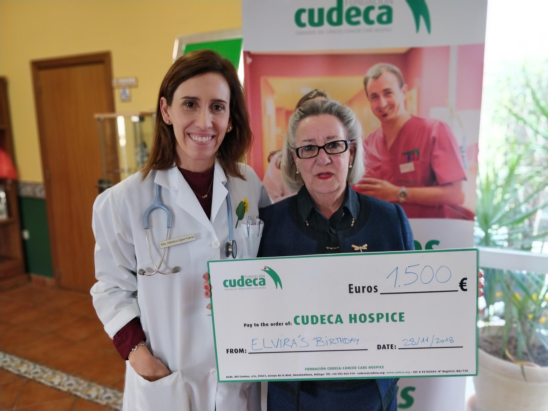 Charity Birthday in aid of CUDECA