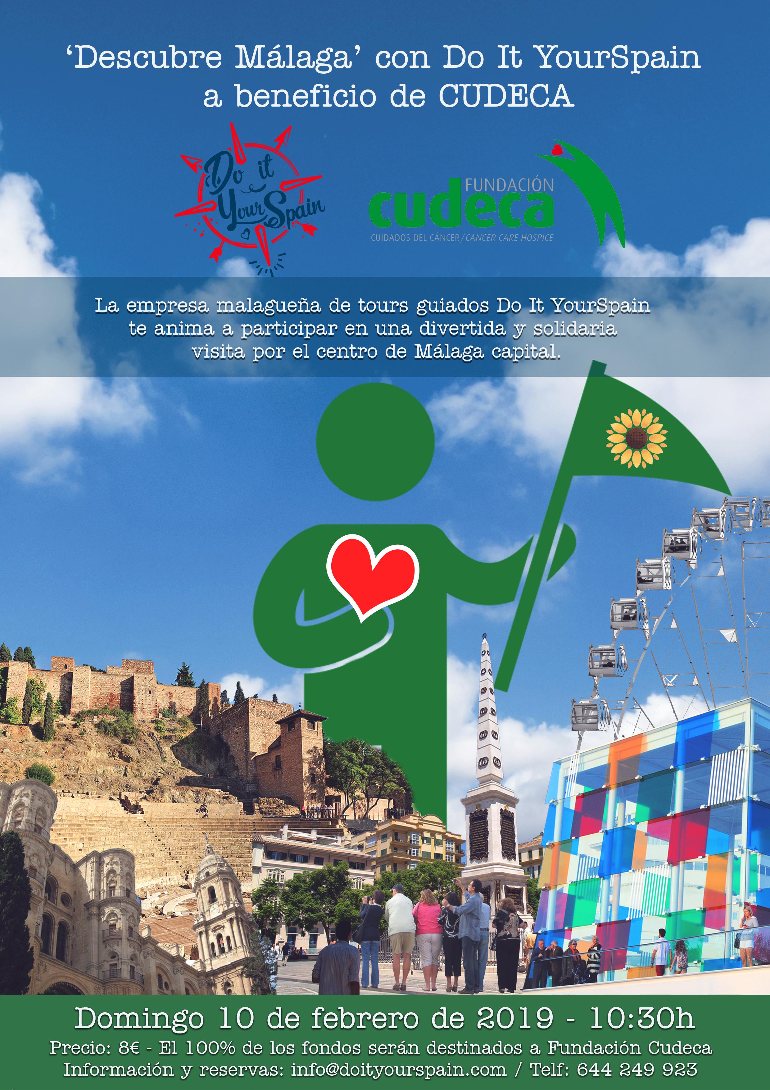 Descubre Málaga con Cudeca & Do it yourspain