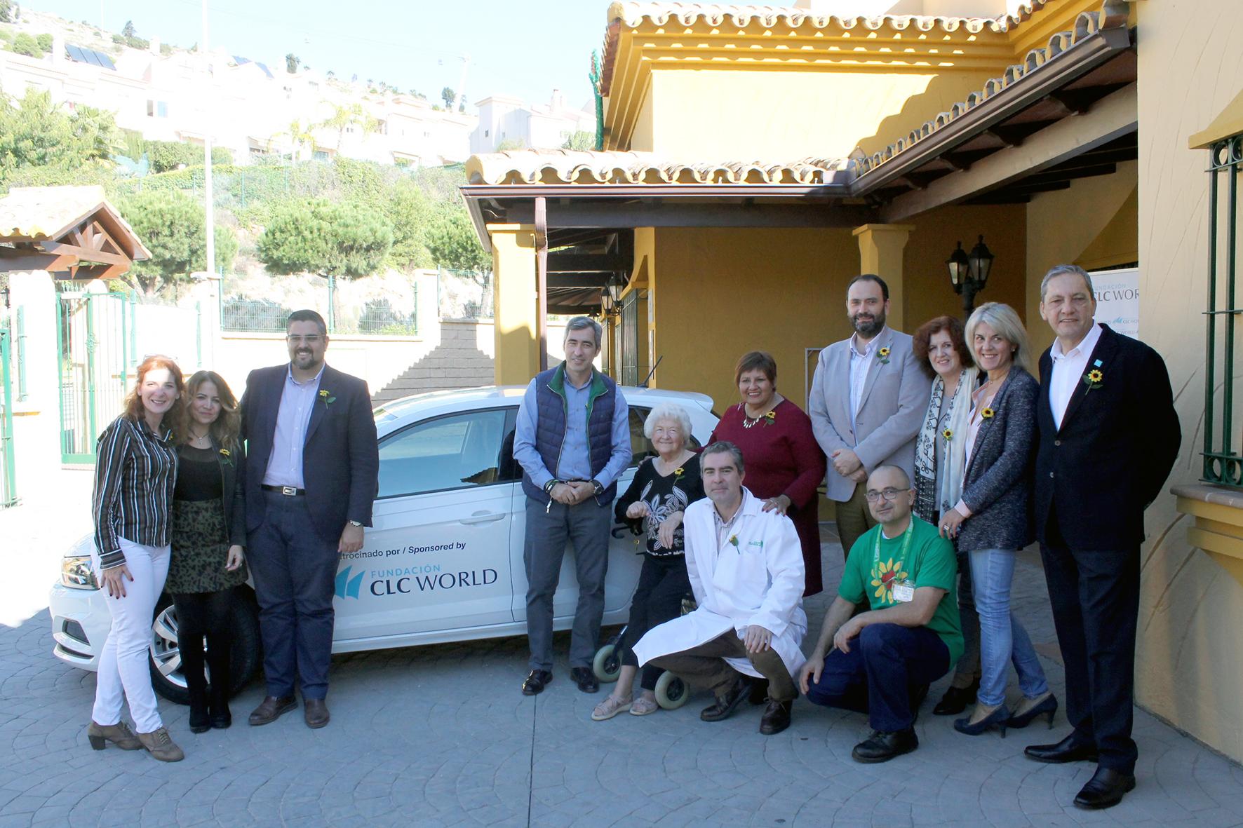 Presentación vehículo CUDECA – Fundación CLC World