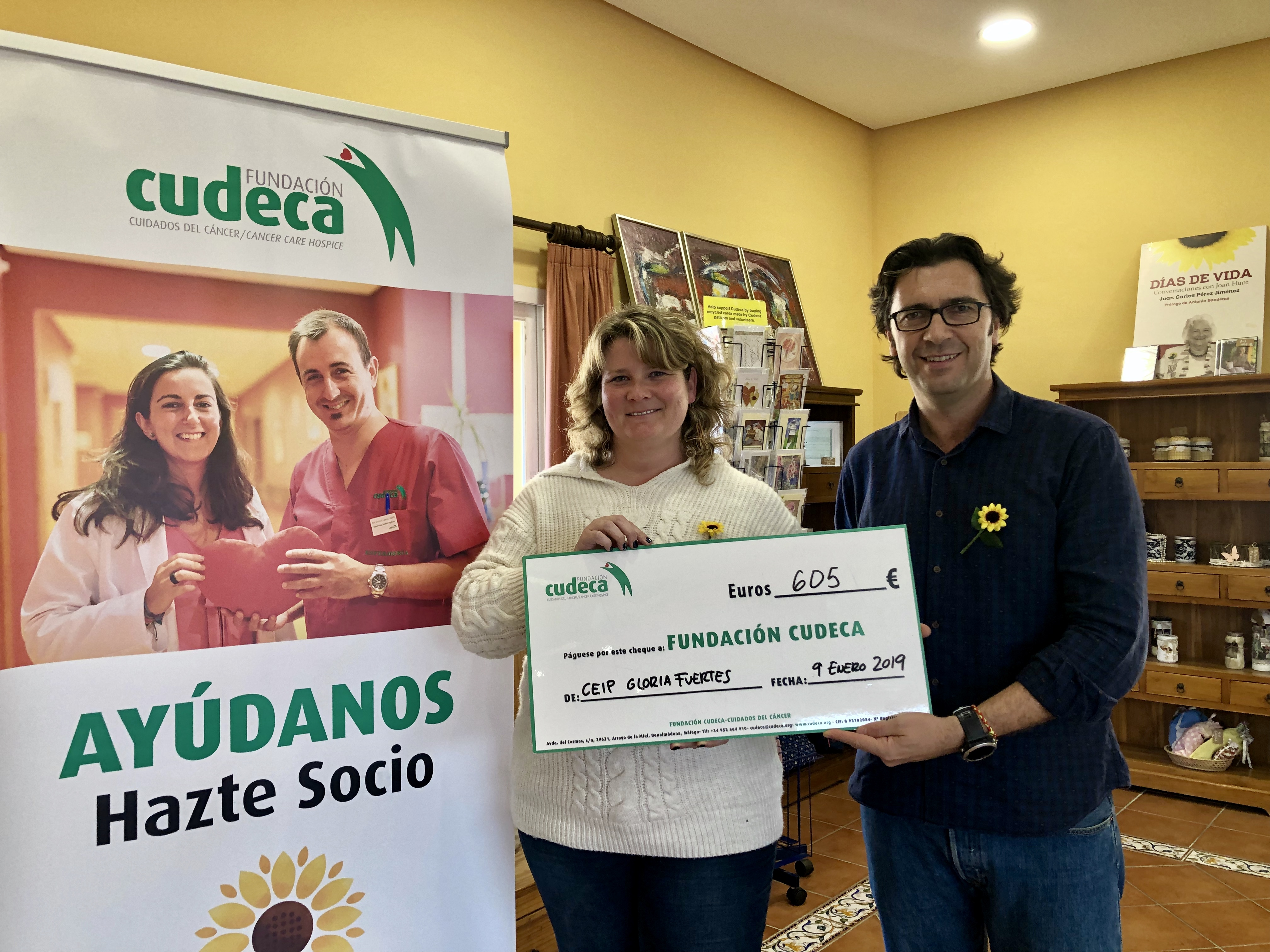 Guadiaro solidarity race funds delivery