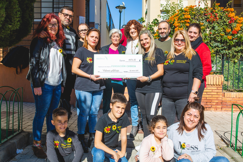 Entrega fondos recaudados Verbena Solidaria Mercedes Enríquez Istán