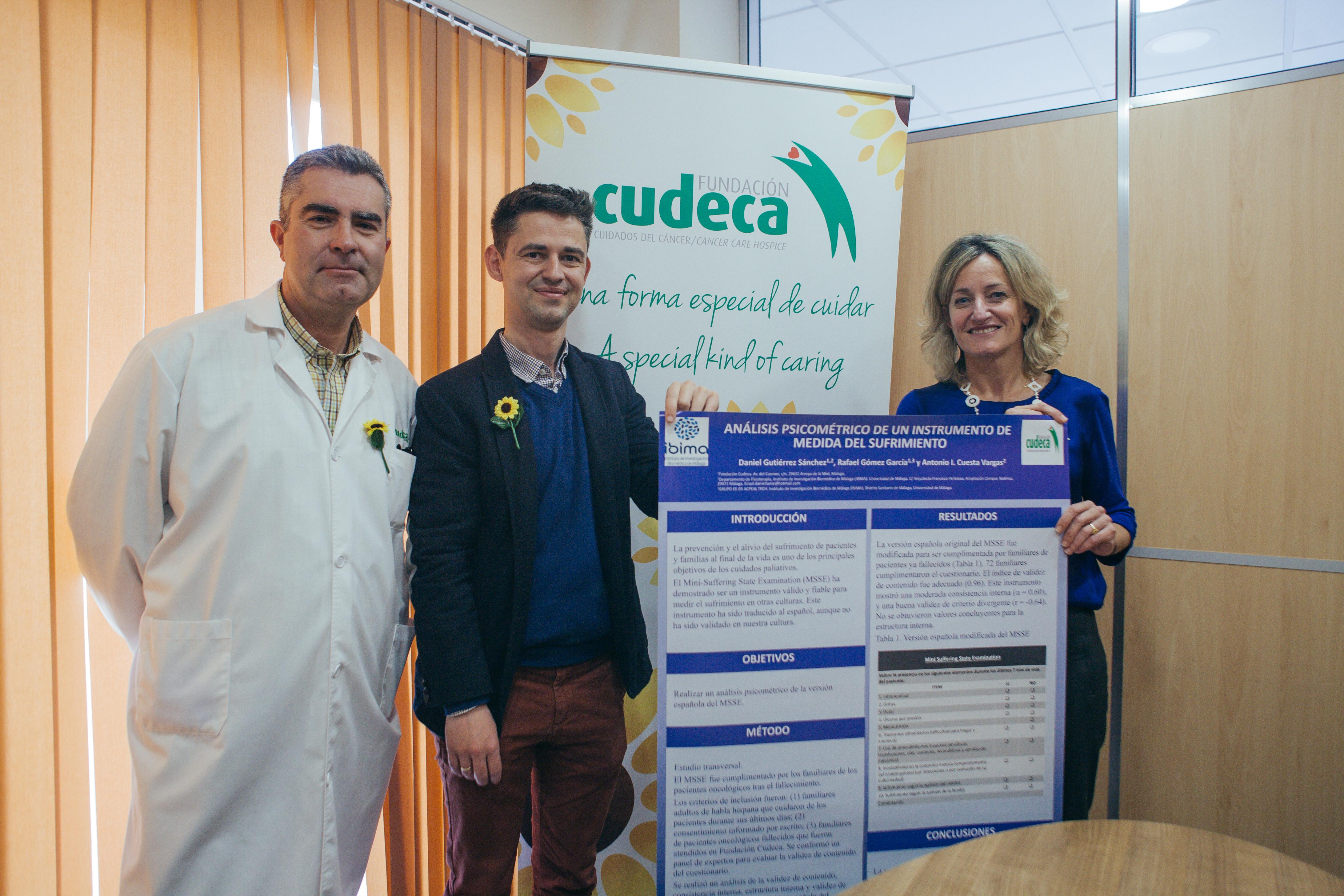 Premiado estudio de nuestro enfermero Daniel Gutiérrez en el Congreso de SACPA