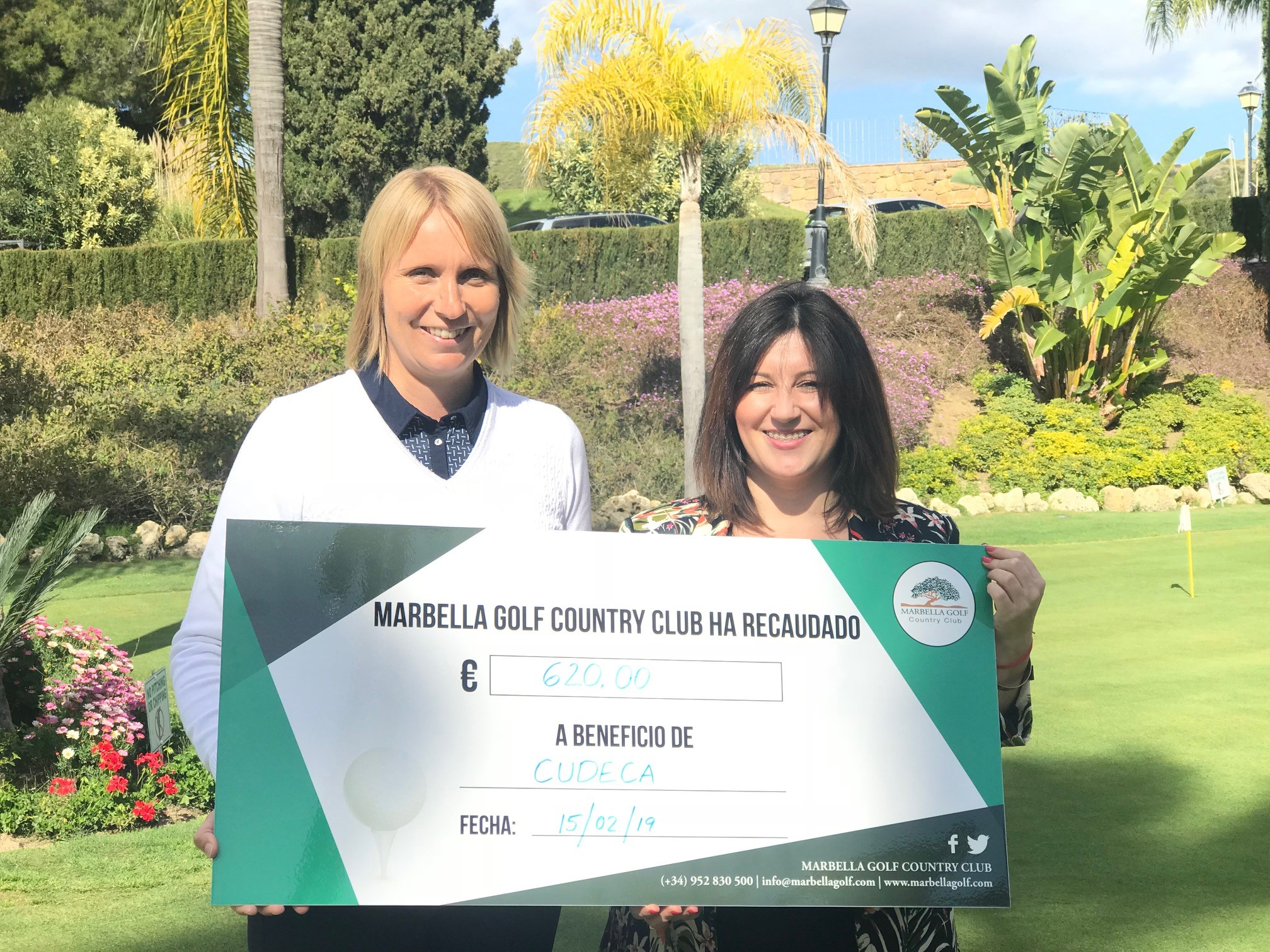 Marbella Golf Country Club helping us since 2015!