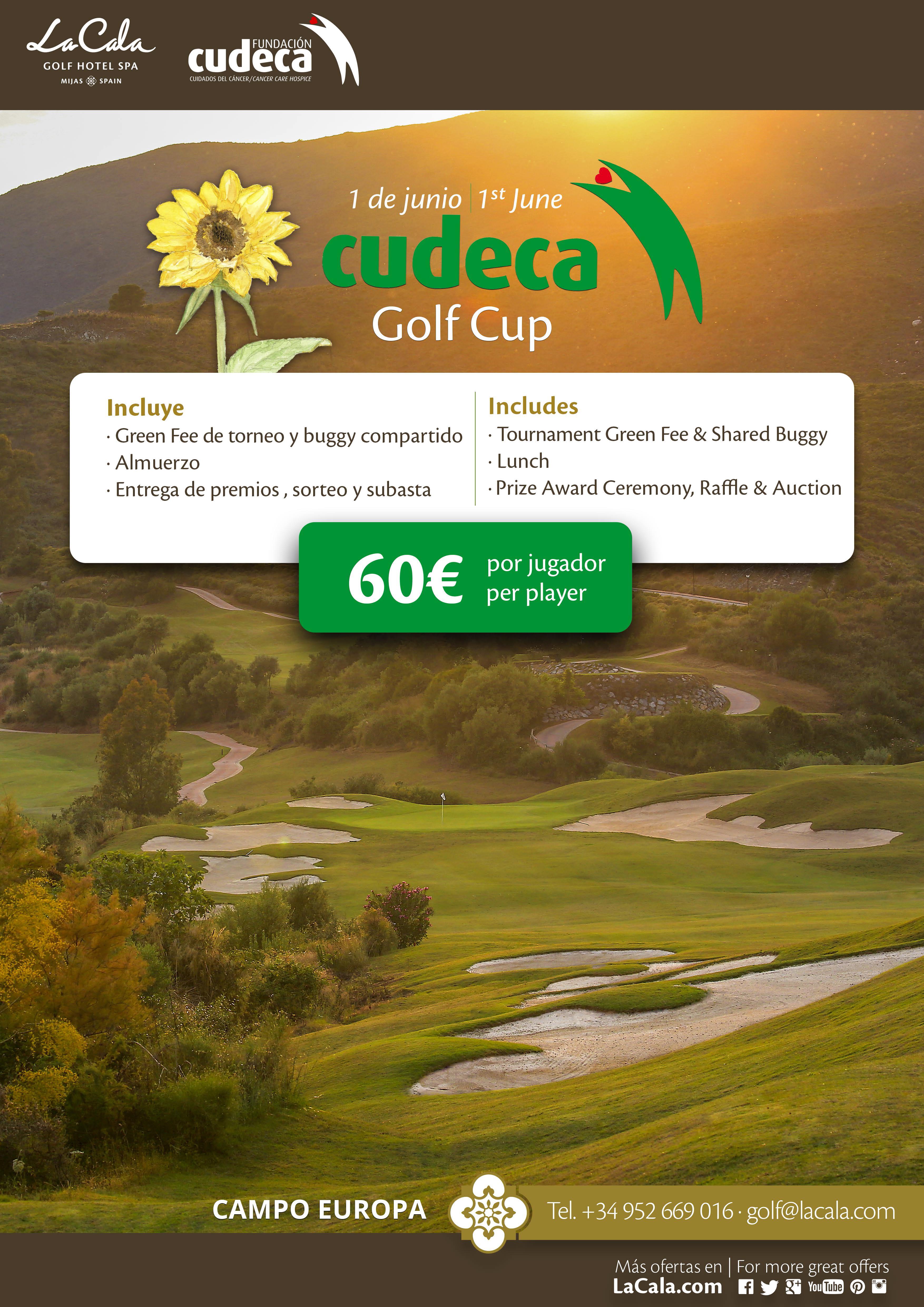 XXVI Torneo de golf Copa CUDECA en La Cala Resort