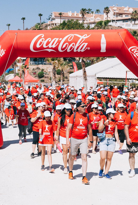 ¡1.100 participantes en la Marcha por Cudeca – Walkathon!