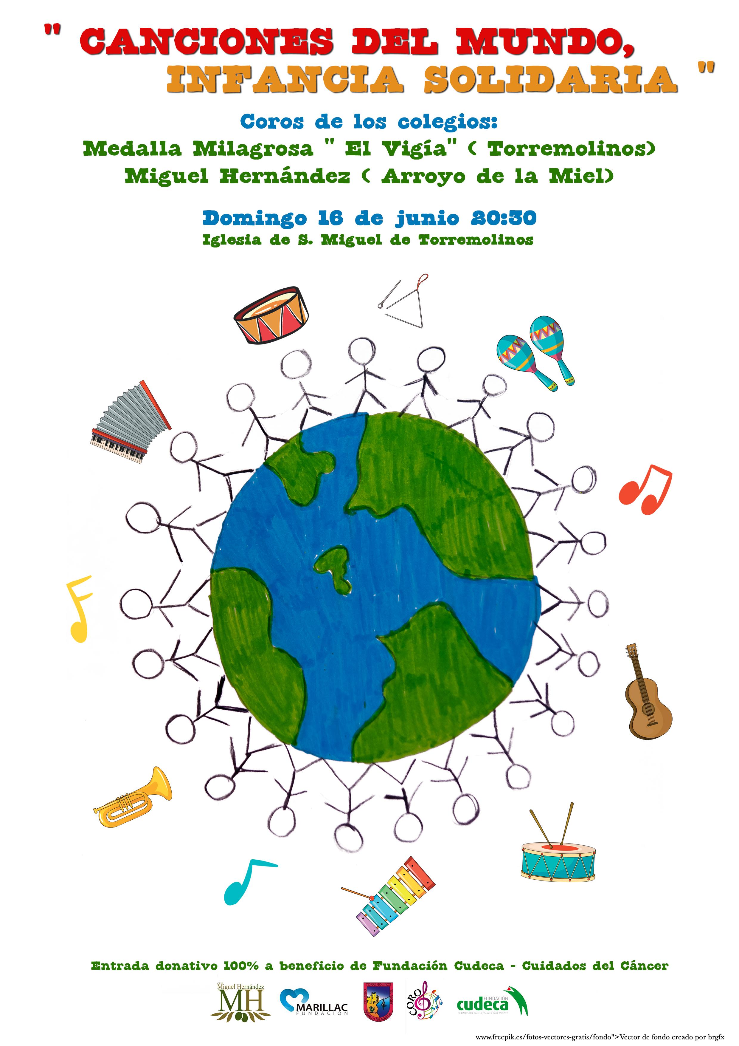 Canciones del Mundo, Infancia Solidaria