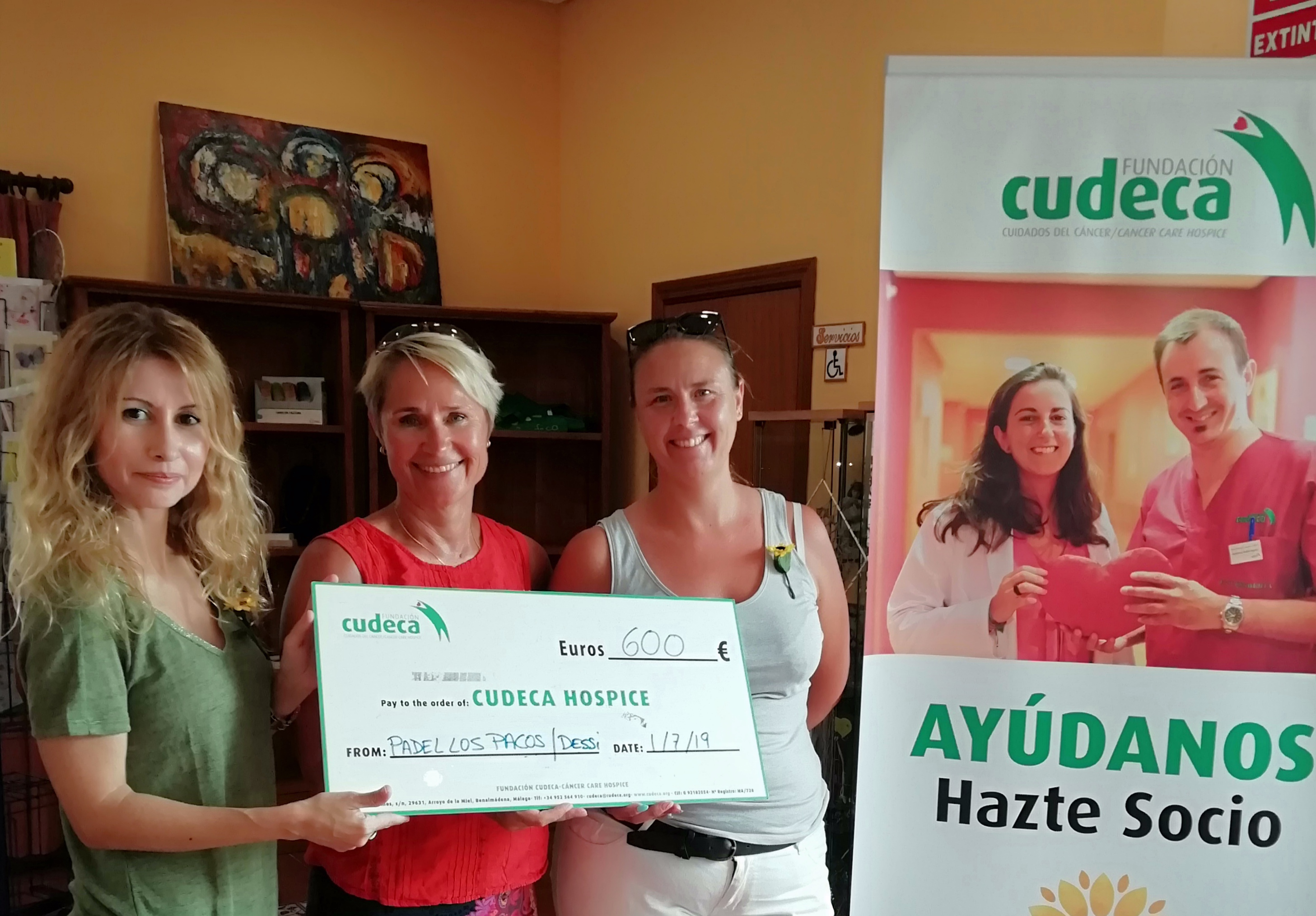 Charity Paddle Tournament in aid of CUDECA