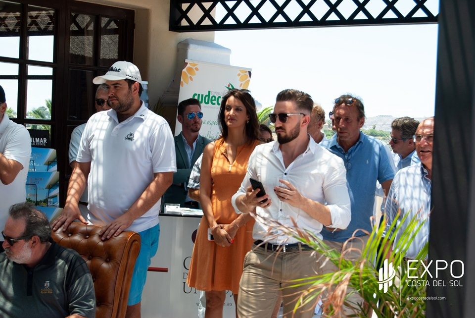 """EXPO Costa del Sol """"Golf Networking Cup"""" raised funds for CUDECA Hospice"""