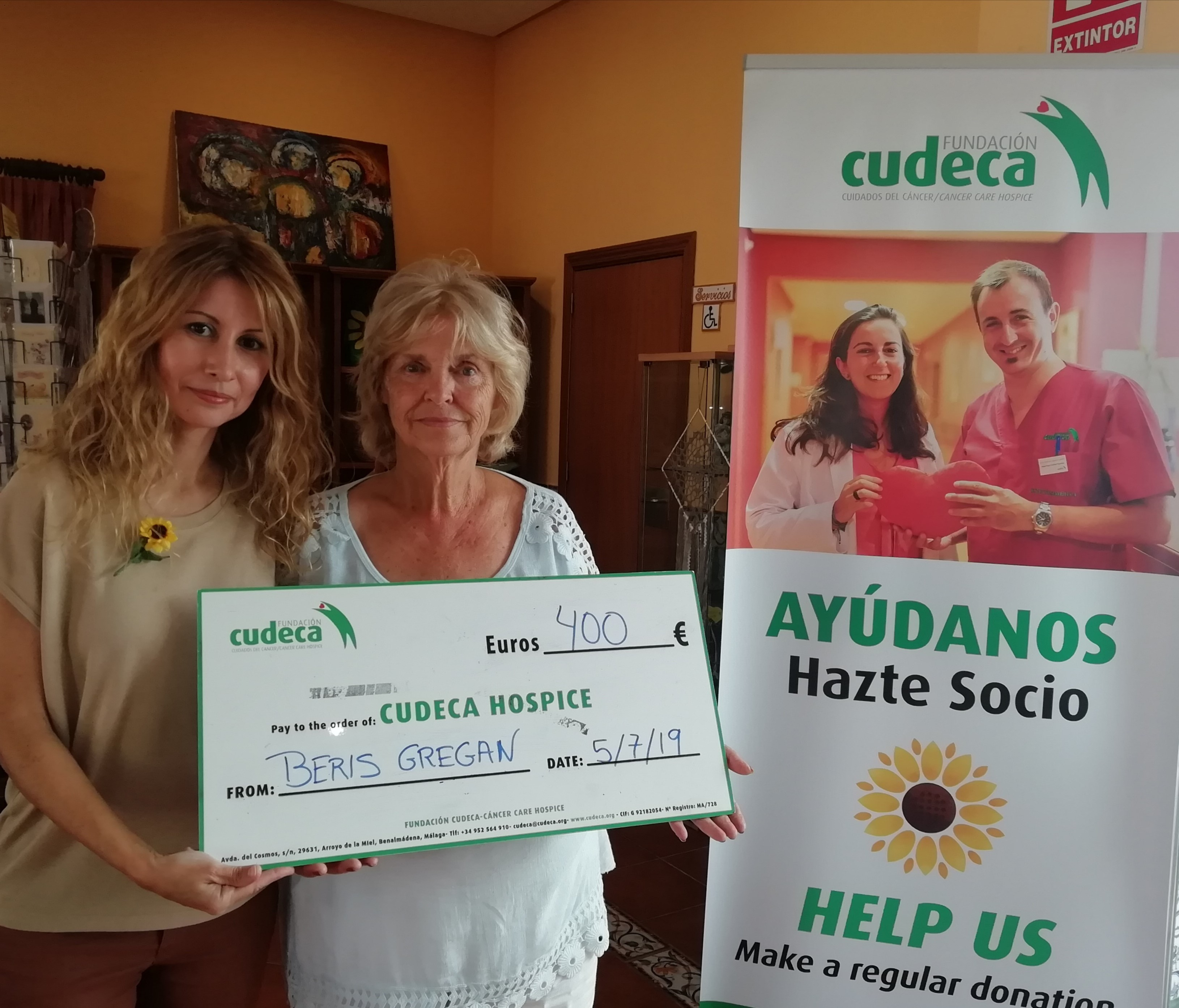 "Cudeca Day at Shazbar in ""Las Joyas"""