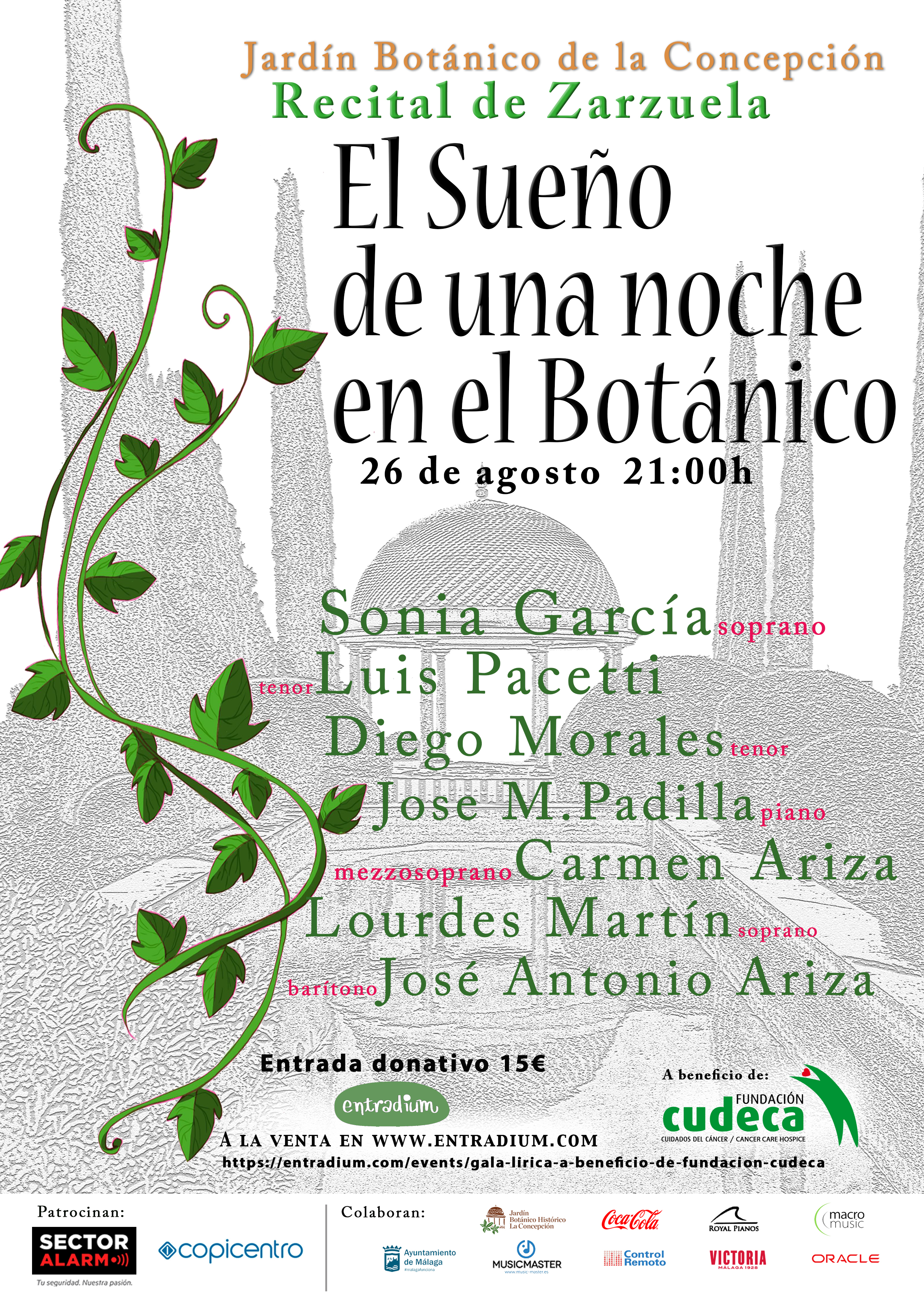 """A Night's Dream at the Botanical Garden"" in aid of CUDECA"