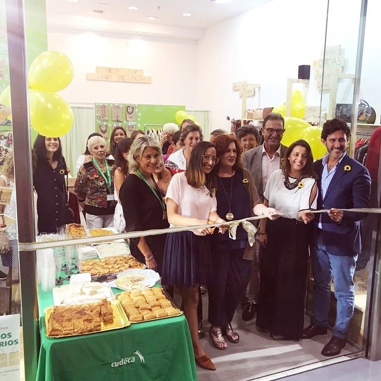 New Cudeca Charity Shop at Malaga Factory Shopping Centre