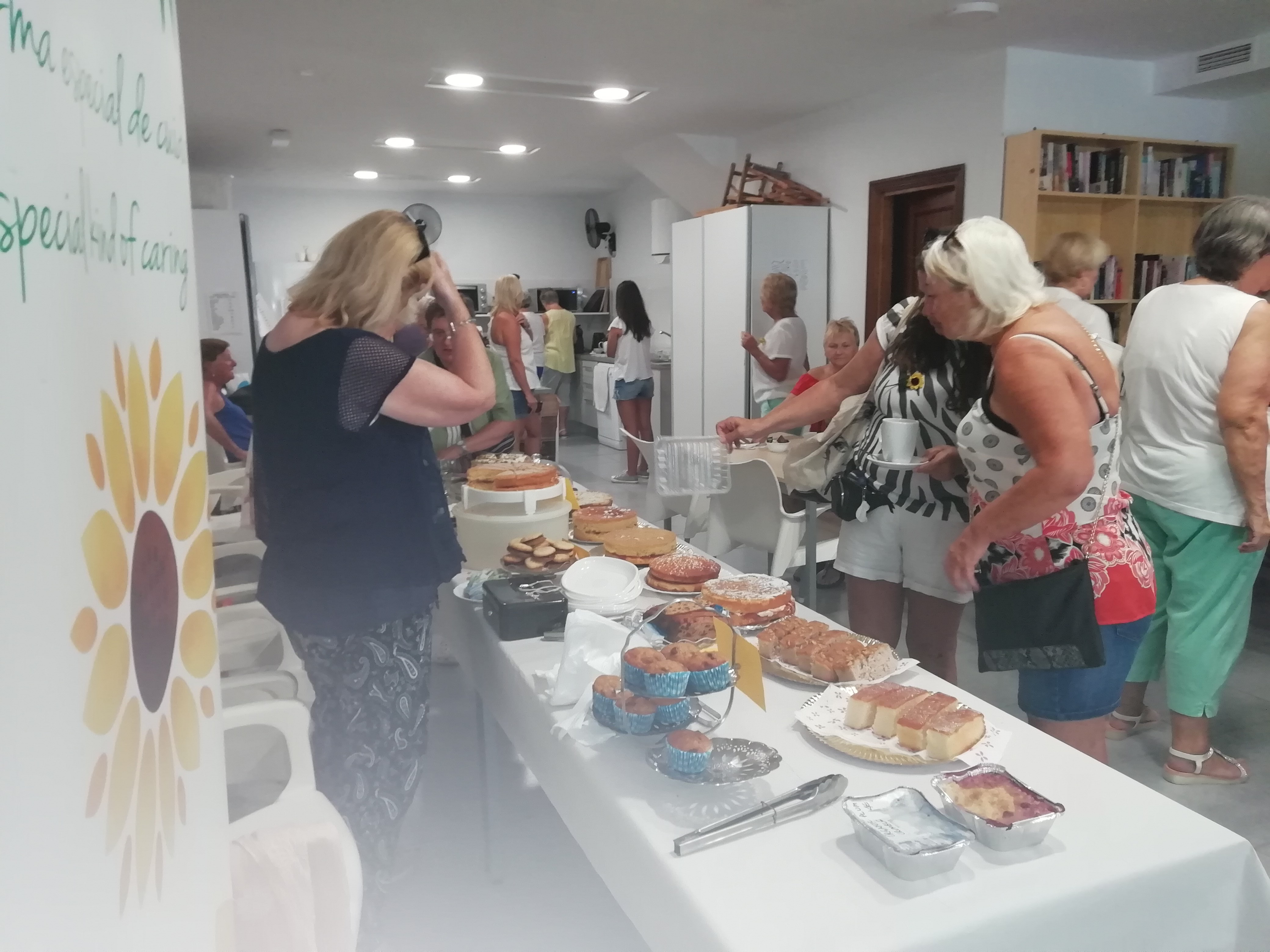 Charity Coffee Morning in Sabinillas