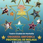 """""""Una noche de Cine""""  con la Orquesta Sinfónica Provincial de Málaga a beneficio de CUDECA"""