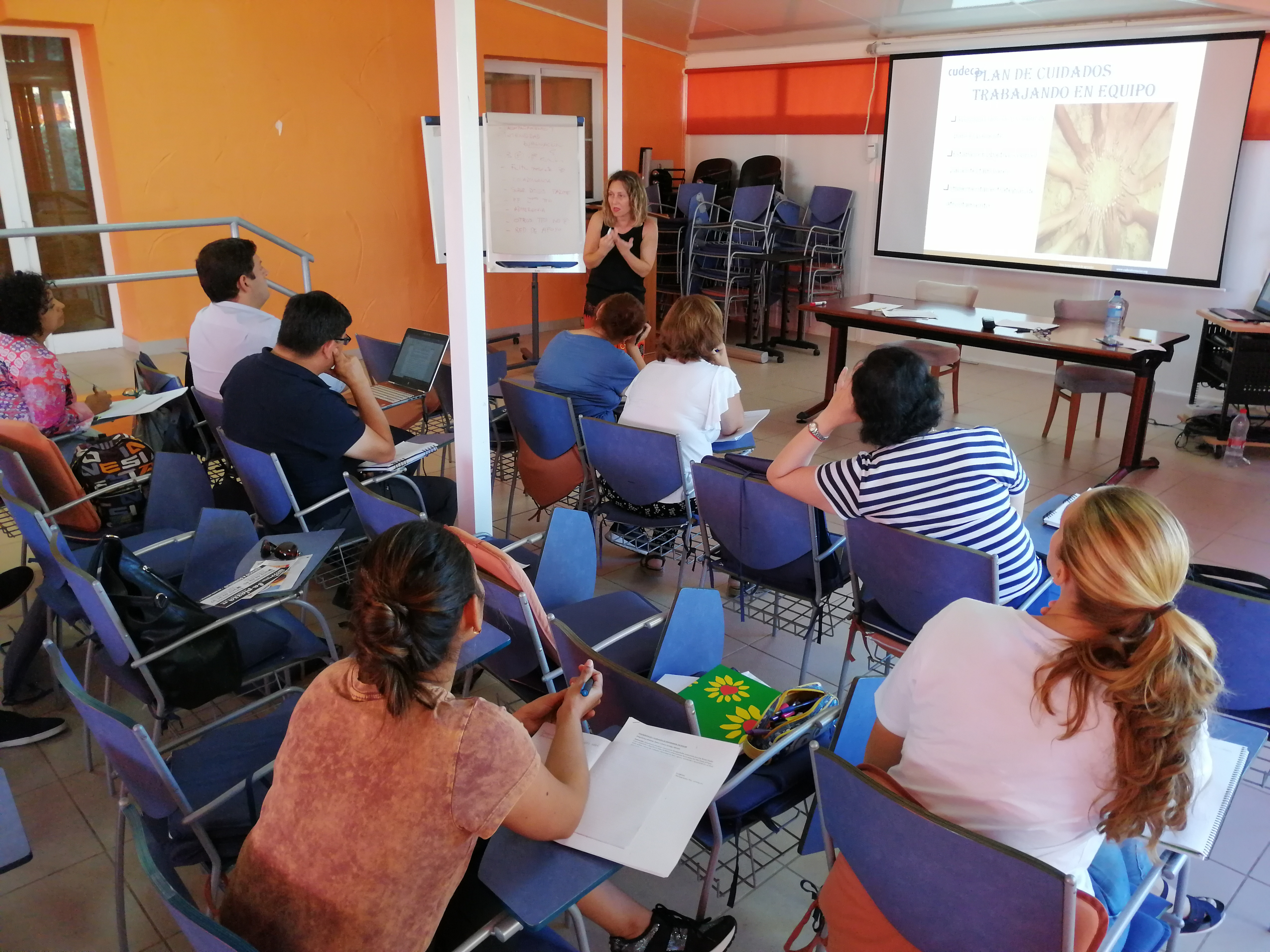 Formando en Cuidados Paliativos al mundo con Cudeca Experience