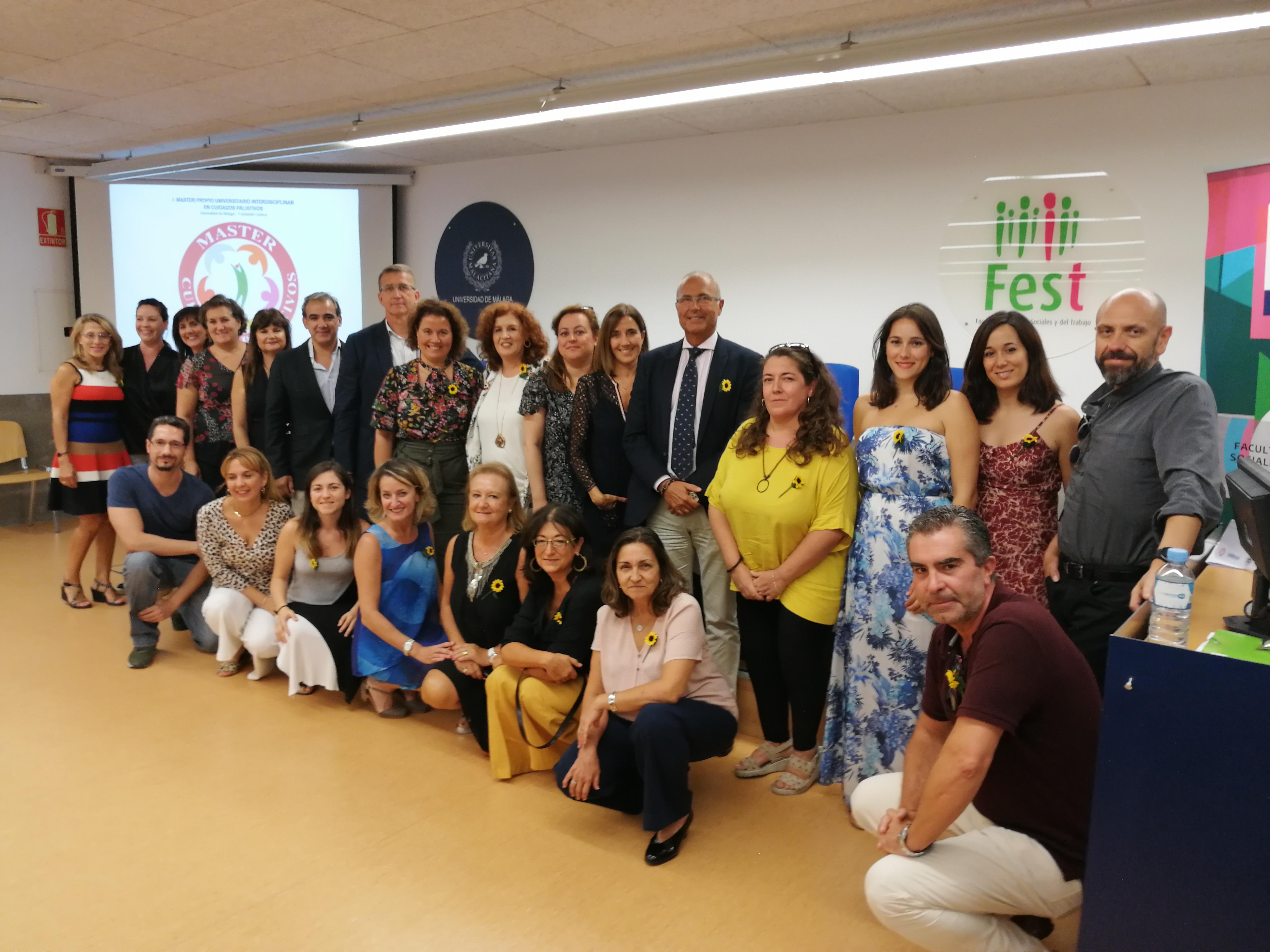 Cudeca y la Universidad de Málaga presentan el I Máster Propio Interdisciplinar en Cuidados Paliativos