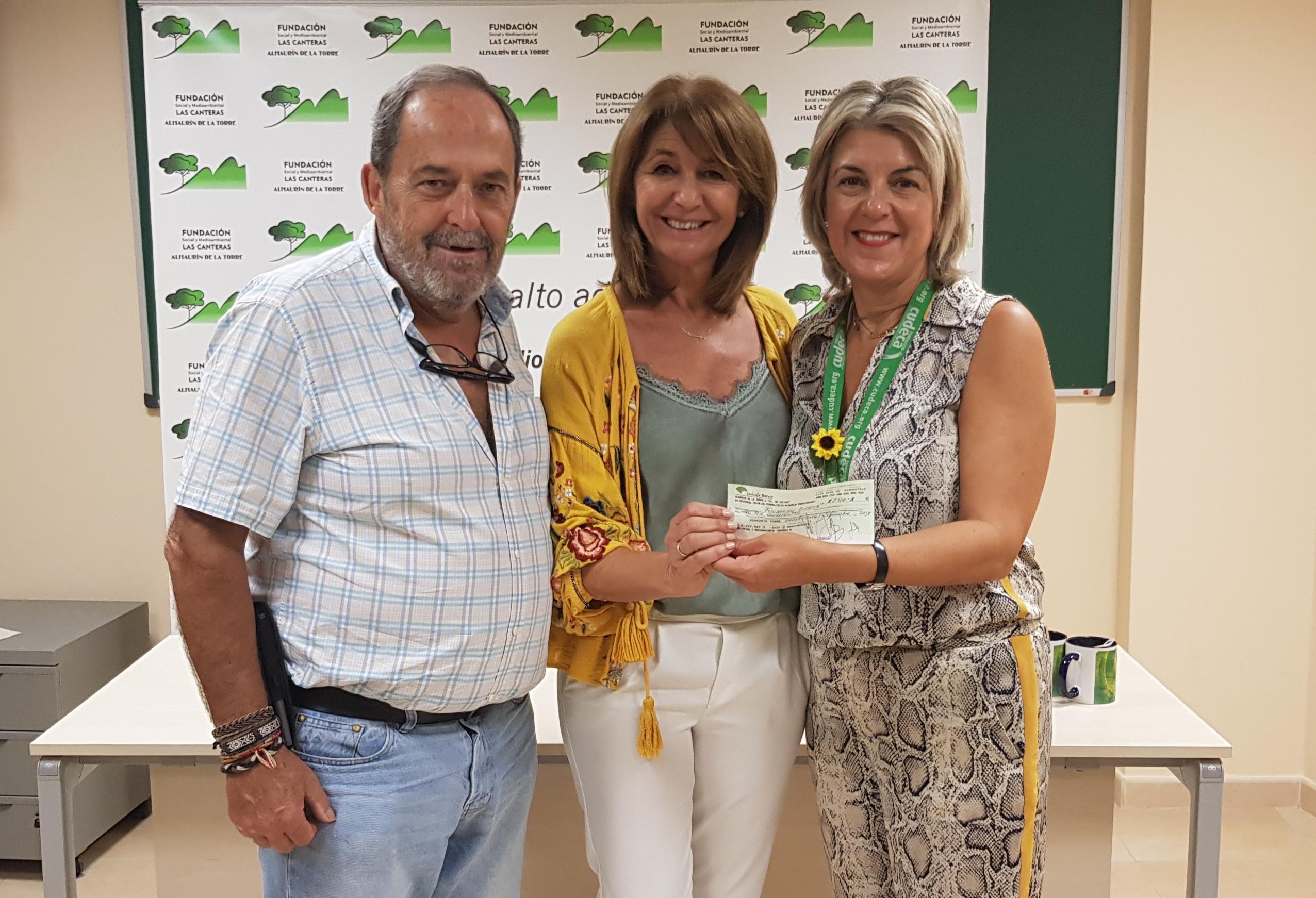 Donación solidaria de la Fundación Las Canteras