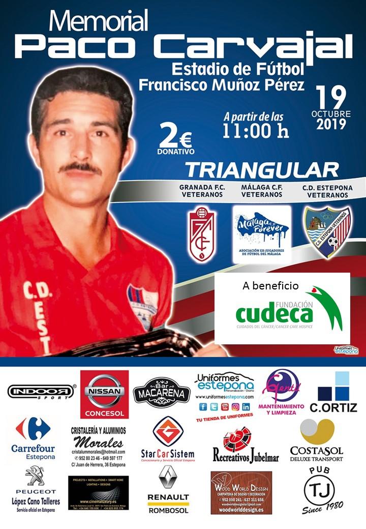 IV Memorial Paco Carvajal en beneficio de la Fundación Cudeca