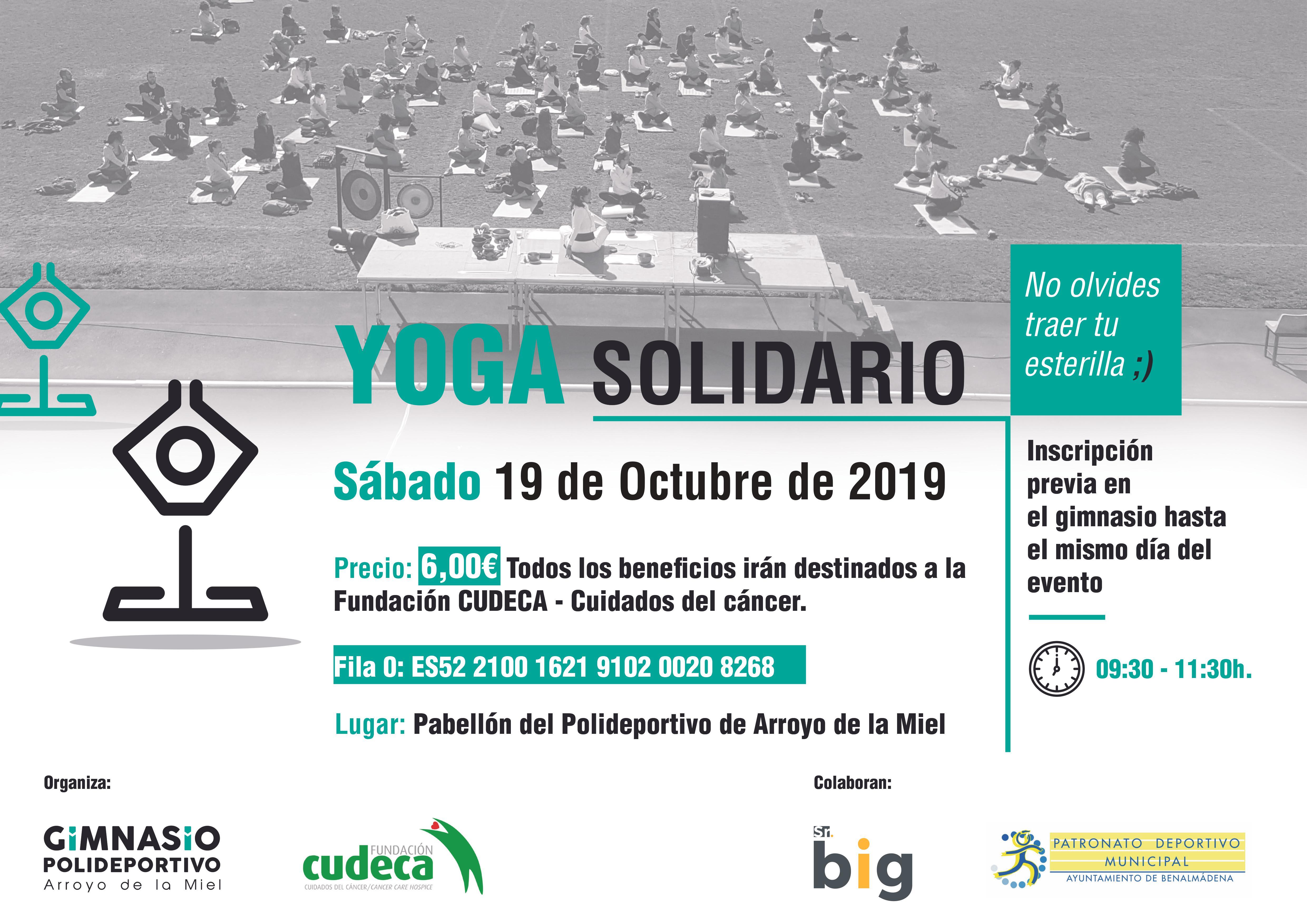 II Jornada de Yoga Solidario