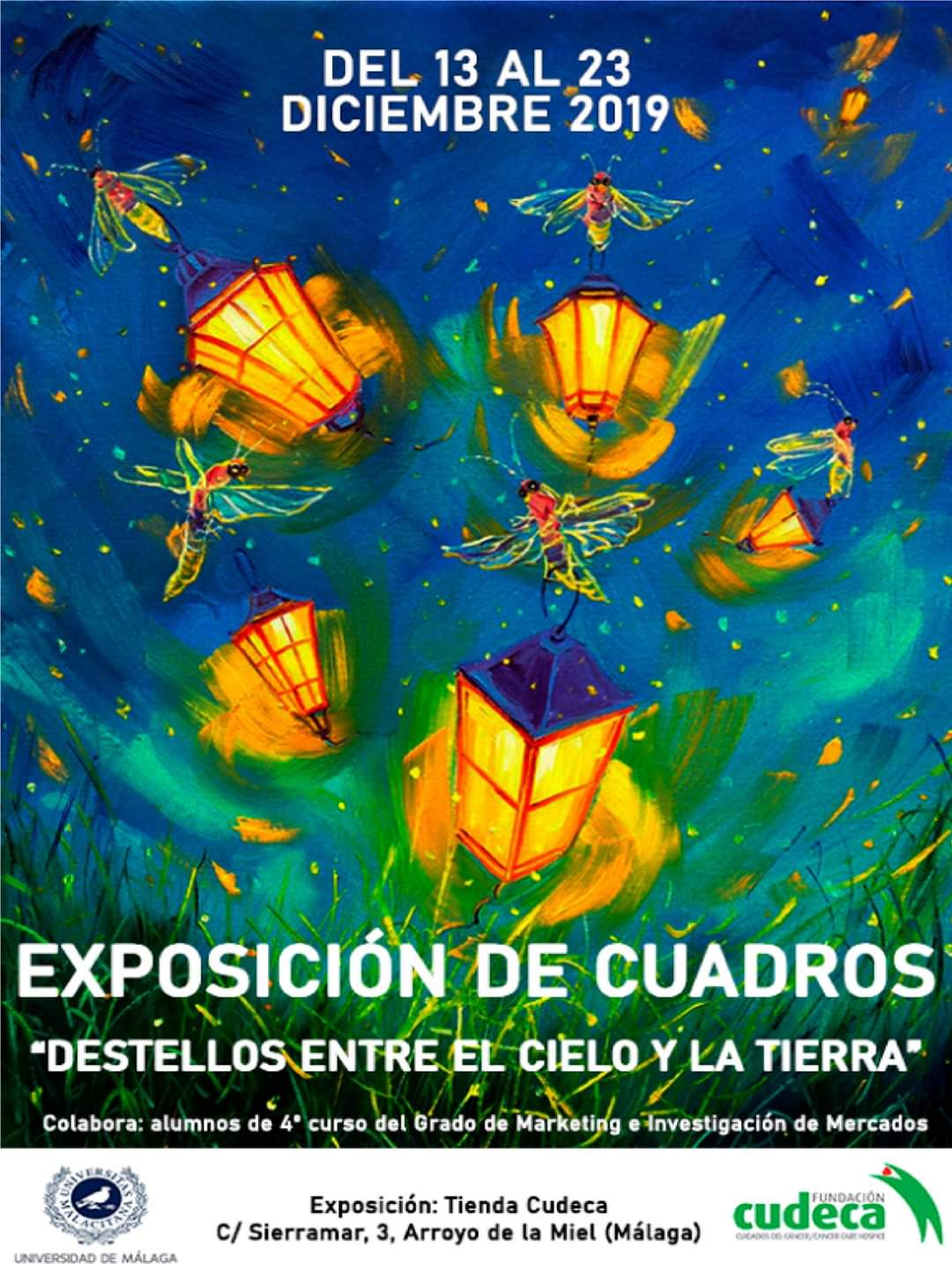 "Charity exhibition ""Sparkles between heaven and earth"""