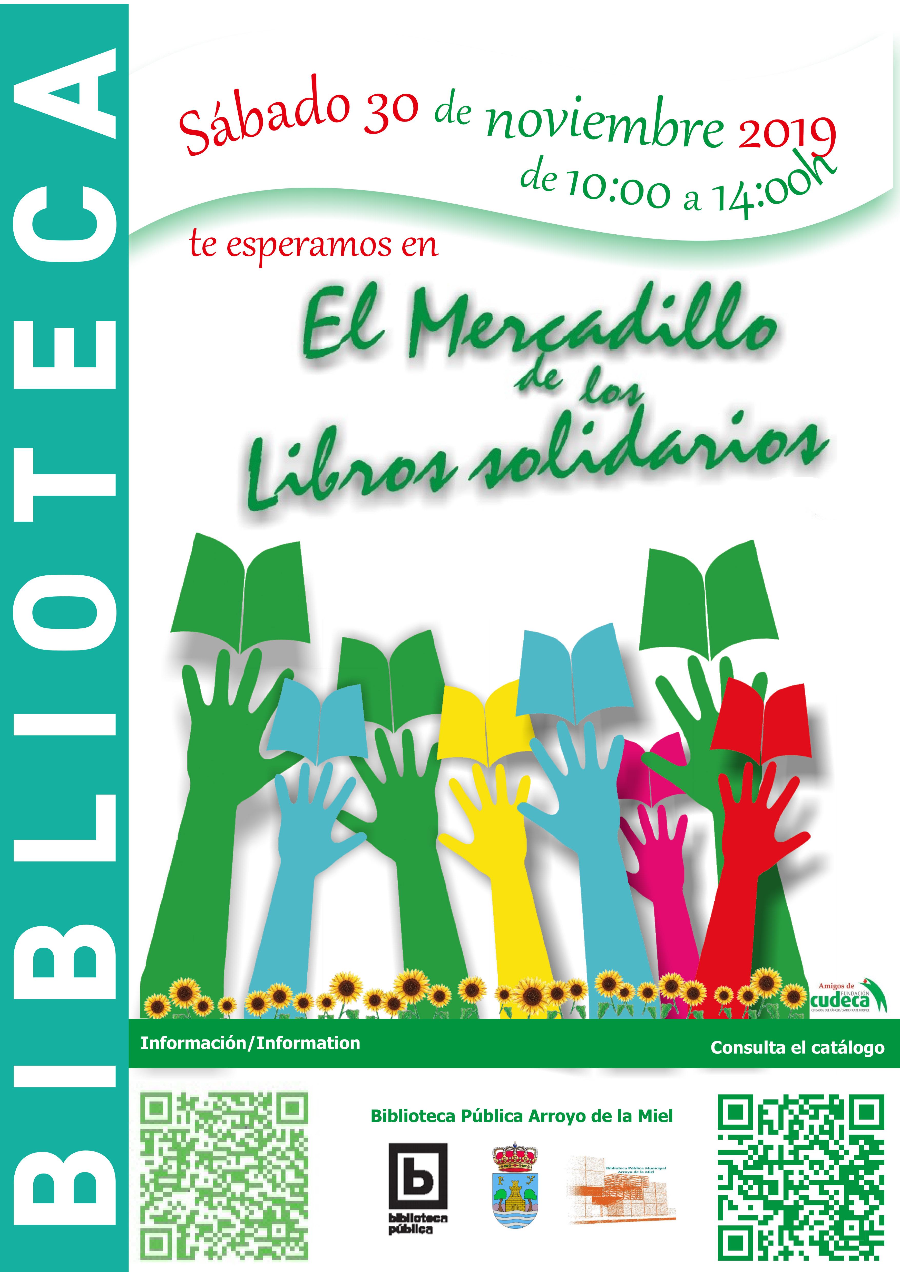 Mercadillo de los Libros Solidarios de la Biblioteca Benalmádena