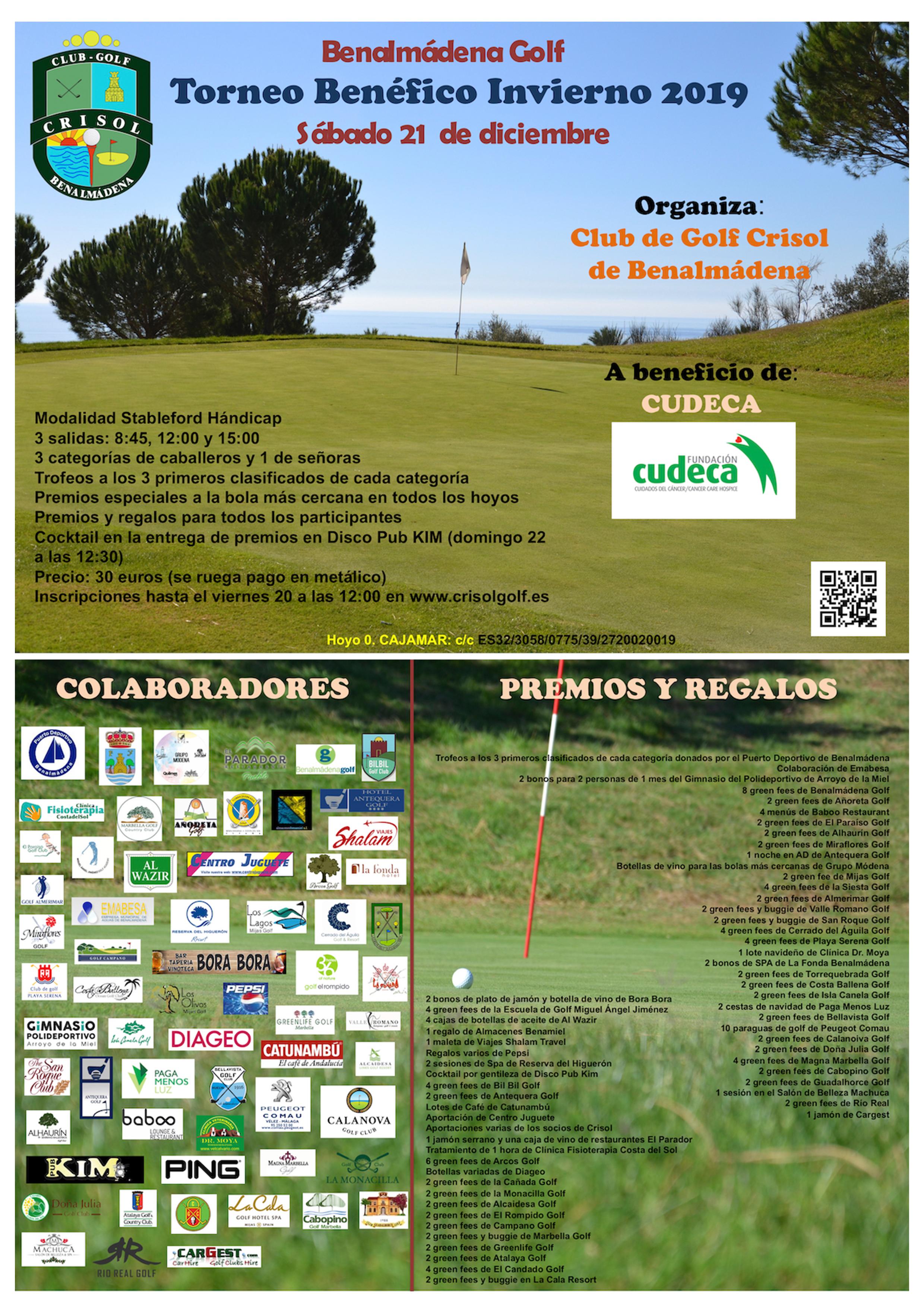 XI Crisol Golf Club Charity Tournament