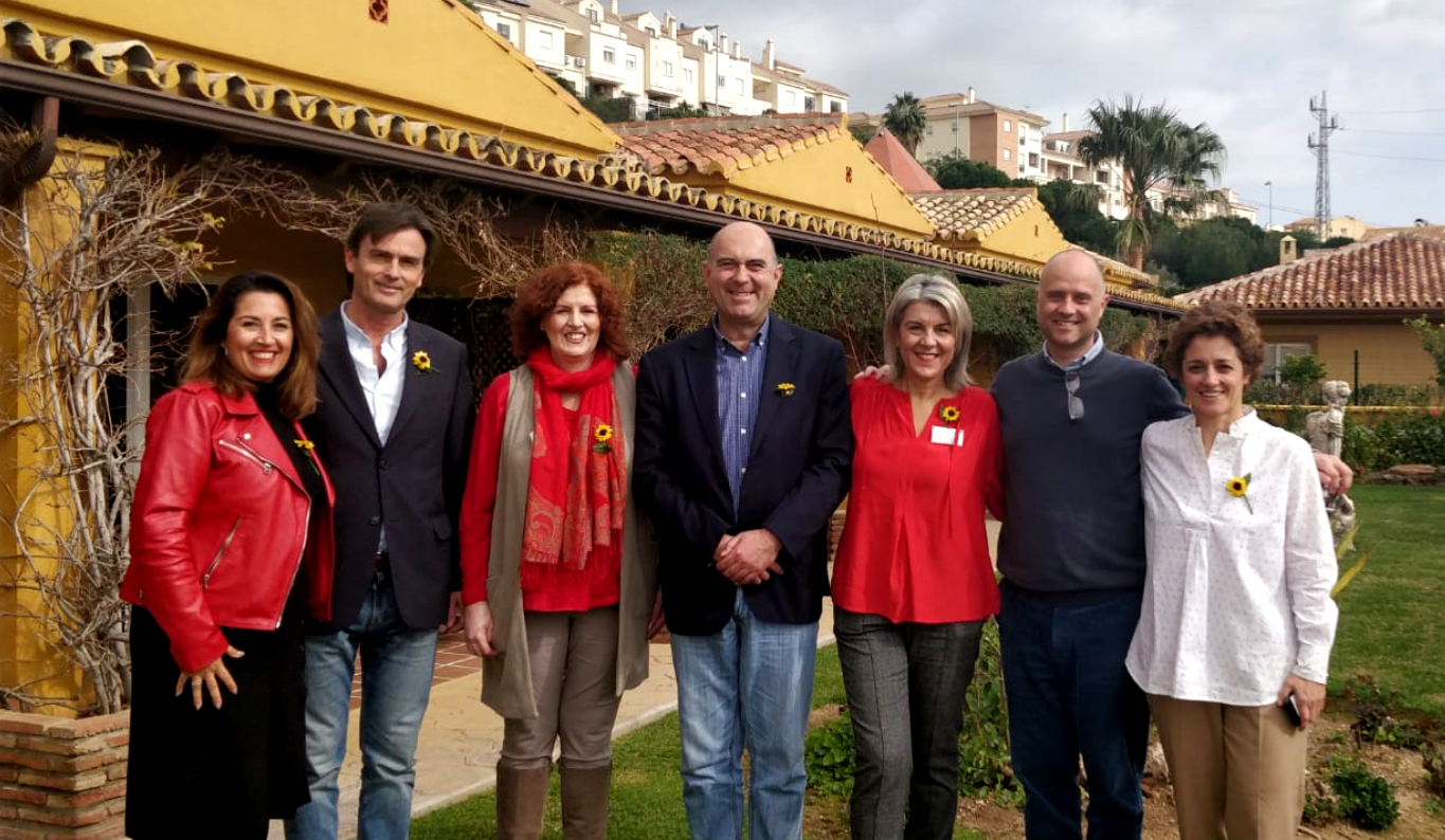 Visit by members of the Mijas Town Hall