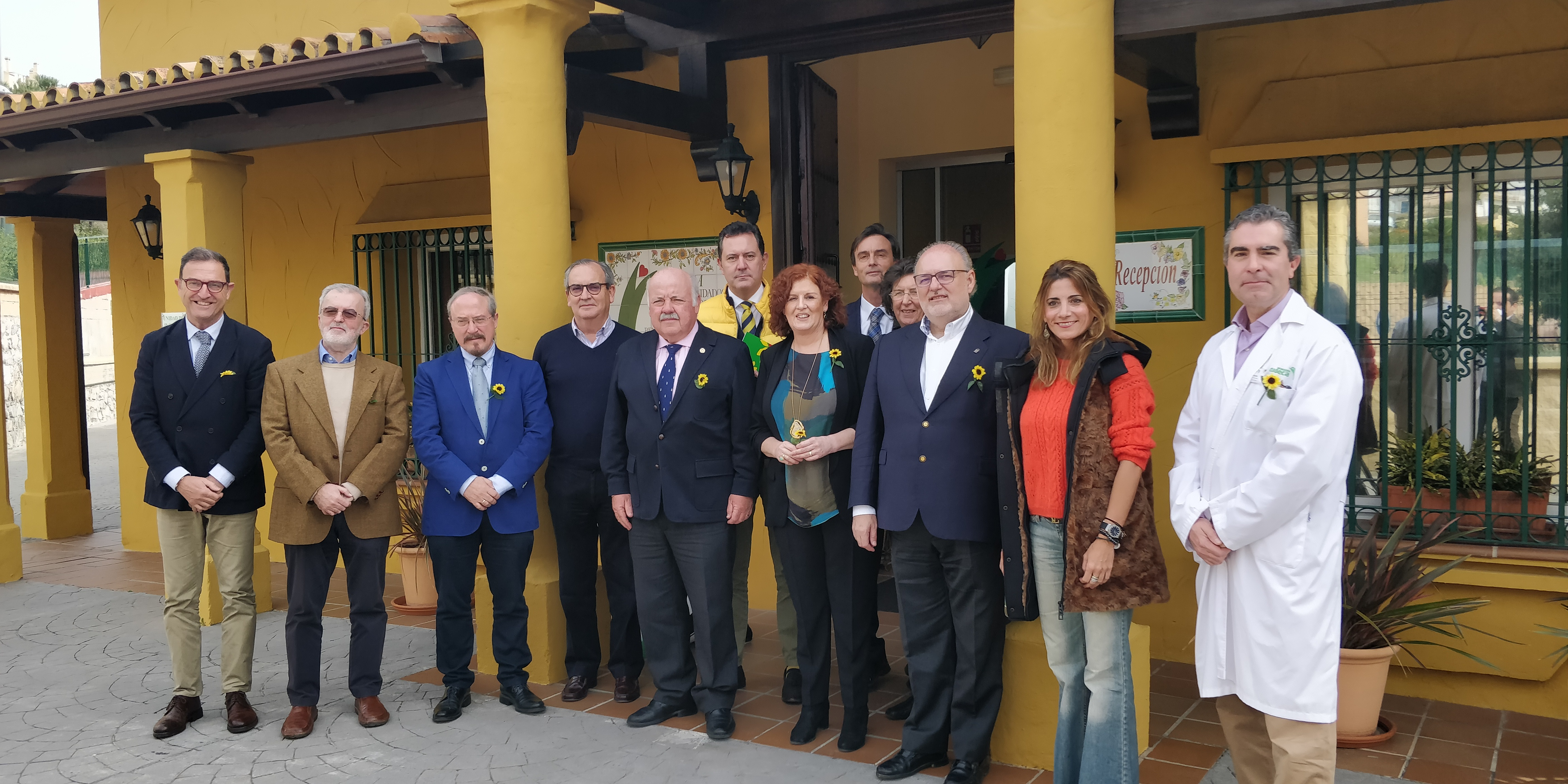 The Minister of Health and Family Affairs visits the Cudeca Hospice