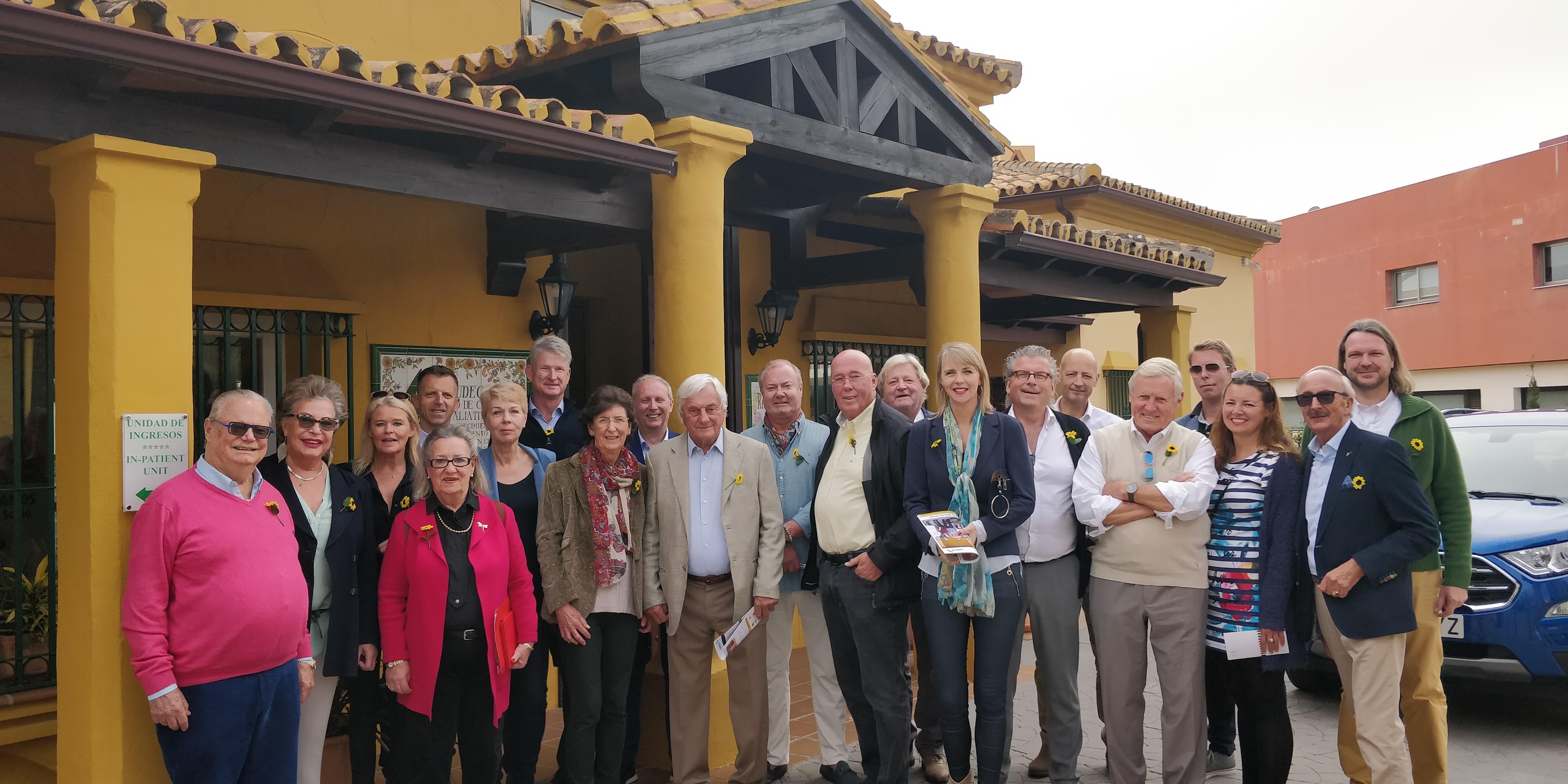 Visita del Club Holandés de Empresarios de Marbella