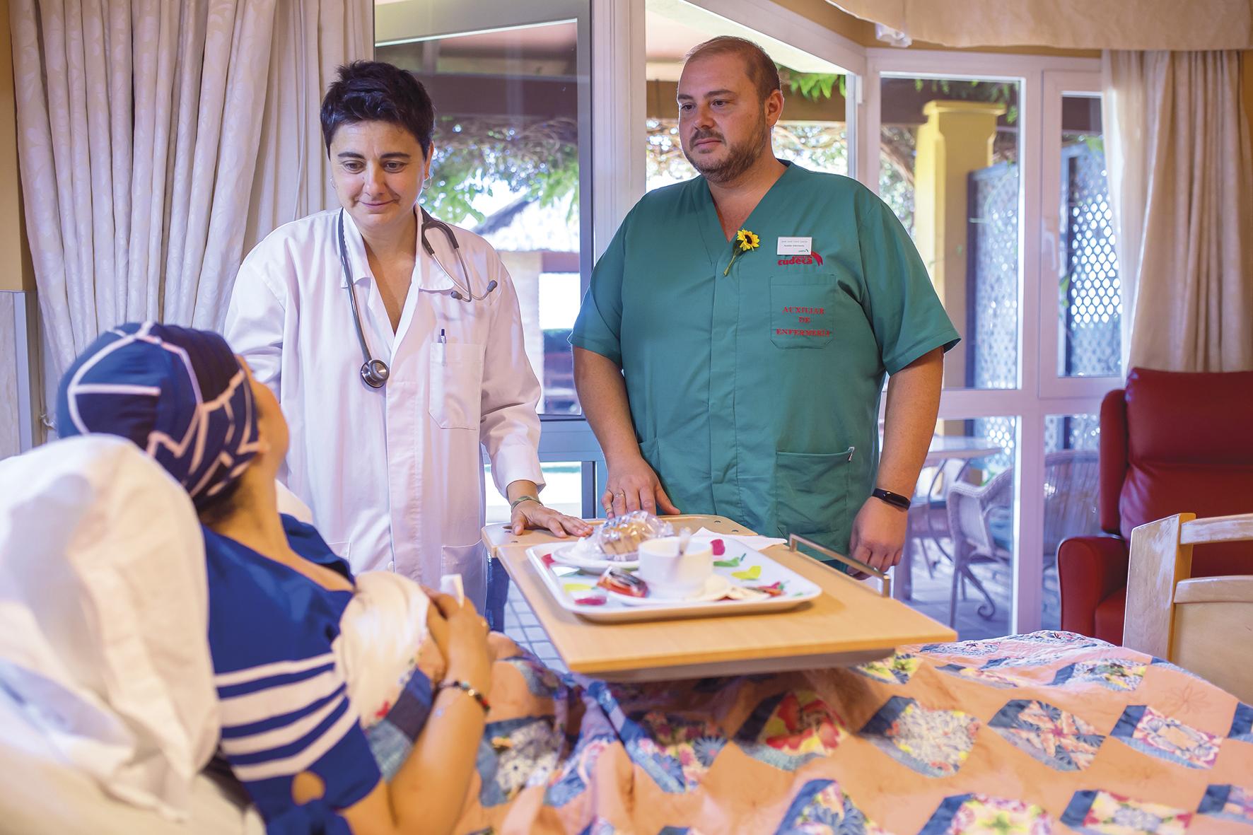 Testimonio de nuestra médico de la Unidad de Hospitalización