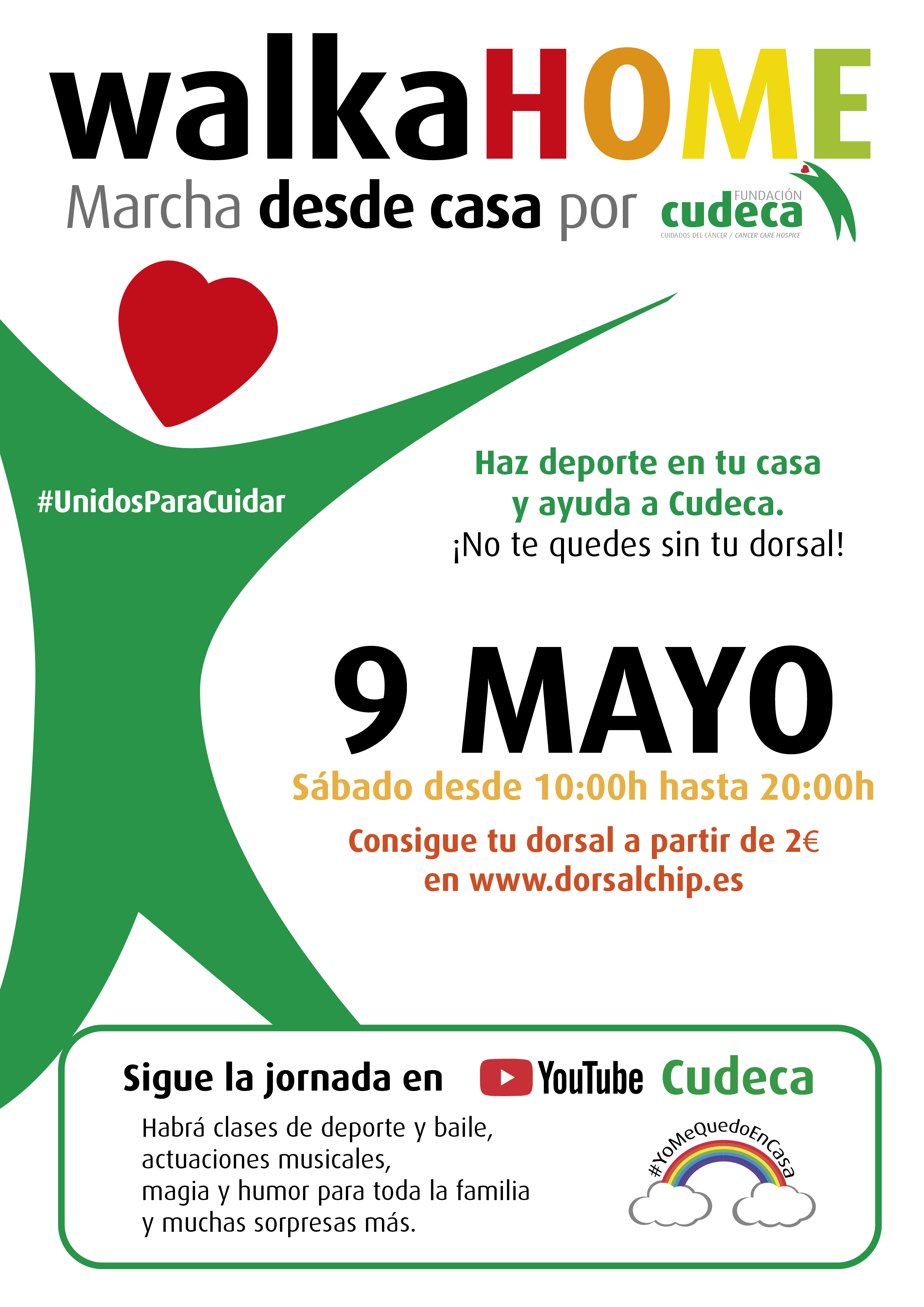 WalkaHOME, a walk at home for Cudeca Hospice